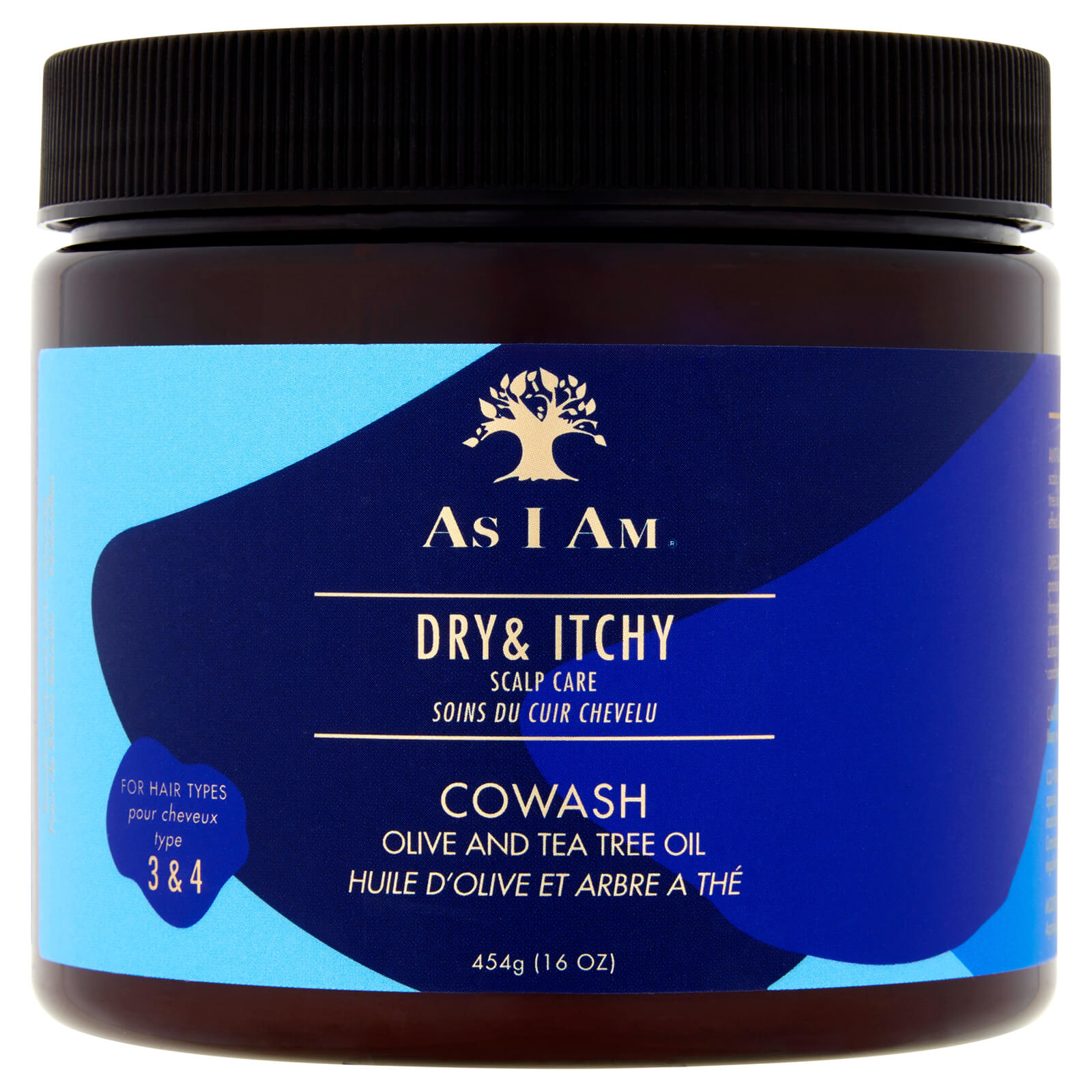 Купить As I Am Dry and Itchy Scalp Care Olive and Tea Tree Oil Co-Wash 454g