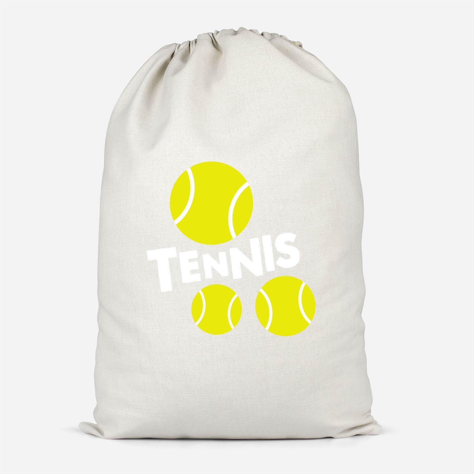Tennis Balls Cotton Storage Bag   Small