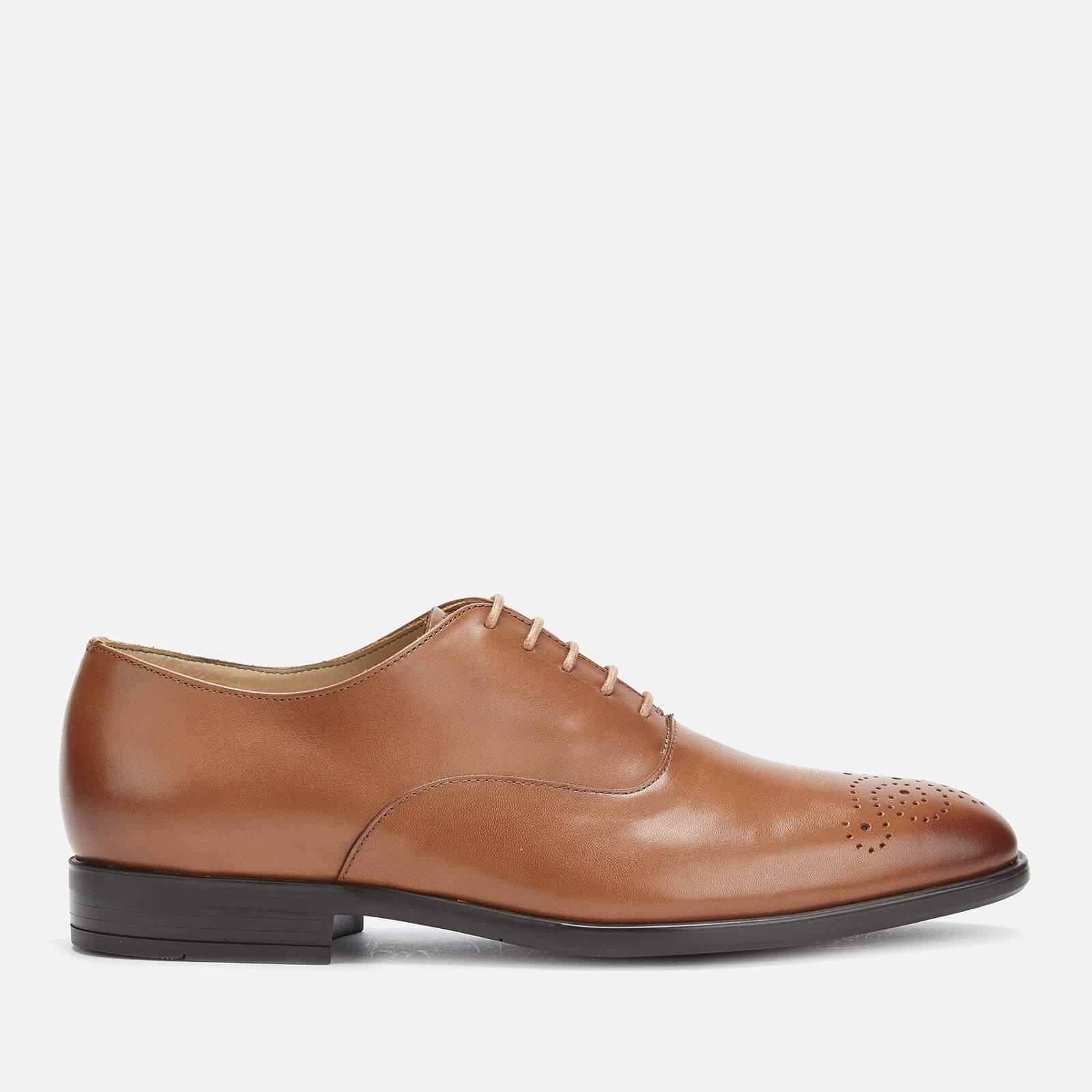 Ps Paul Smith Men's Guy Leather Oxford Shoes - Tan - Uk 7