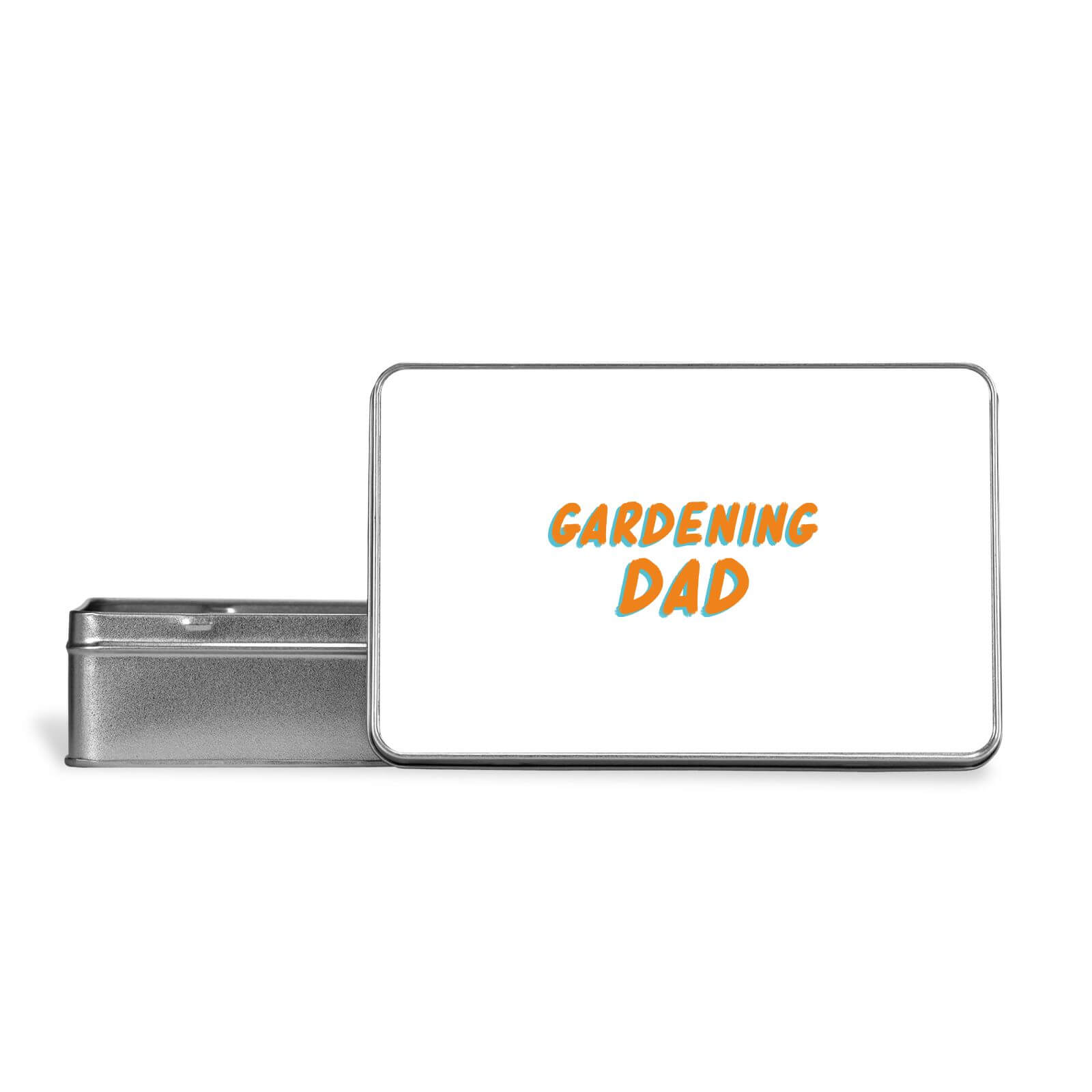 Gardening Dad Metal Storage Tin