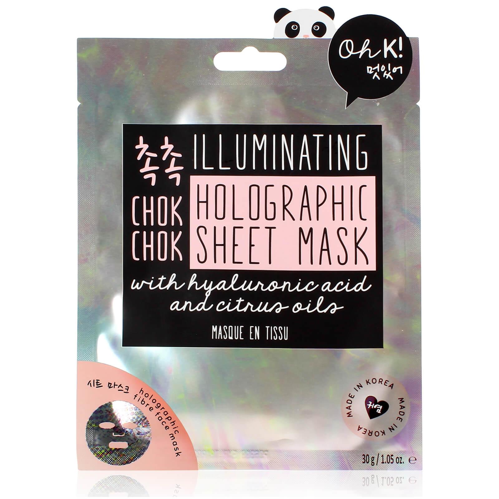 Купить Oh K! Chok Chok Illuminating Holographic Sheet Mask 25g