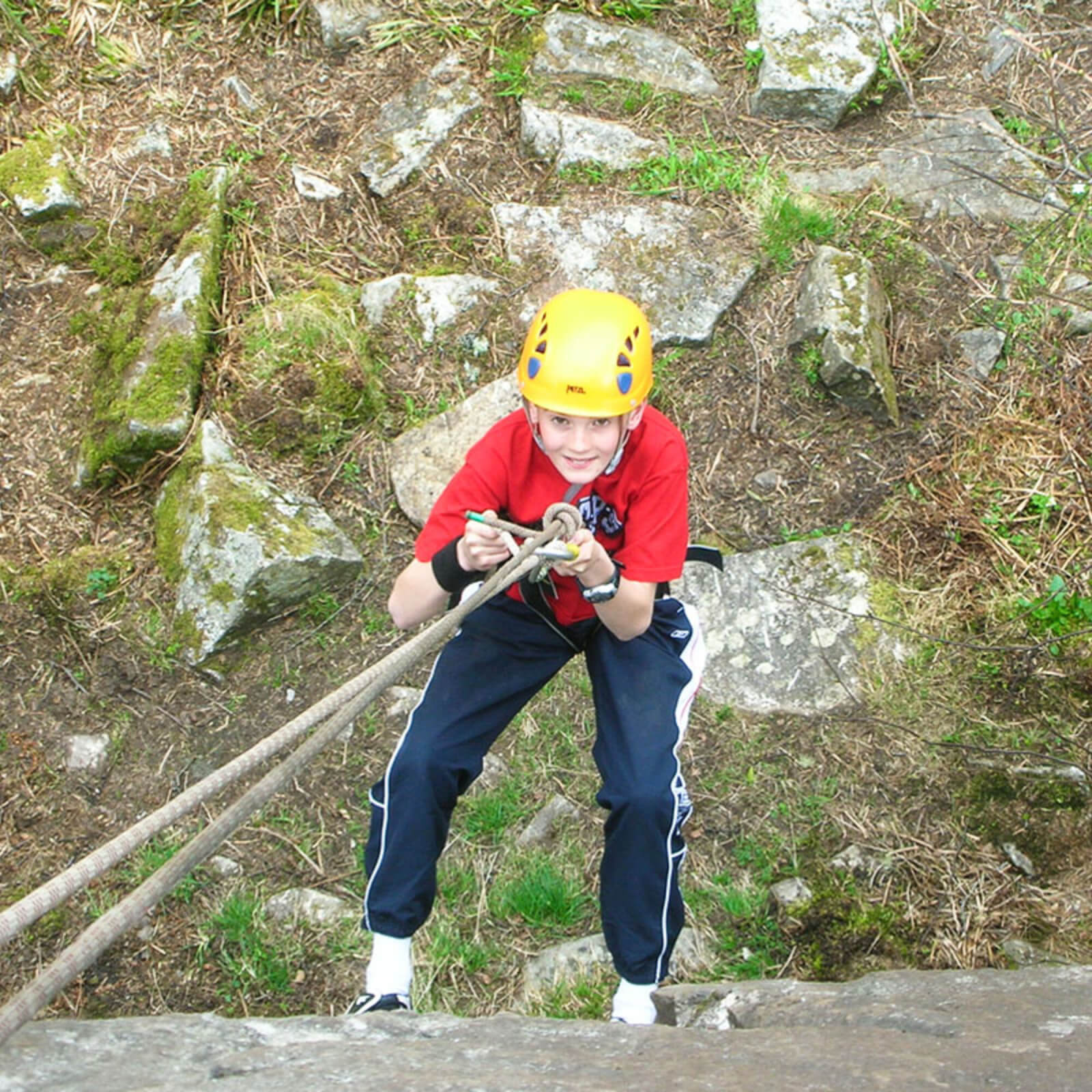 Image of Climbing and Abseiling for Two in the Cairngorms National Park
