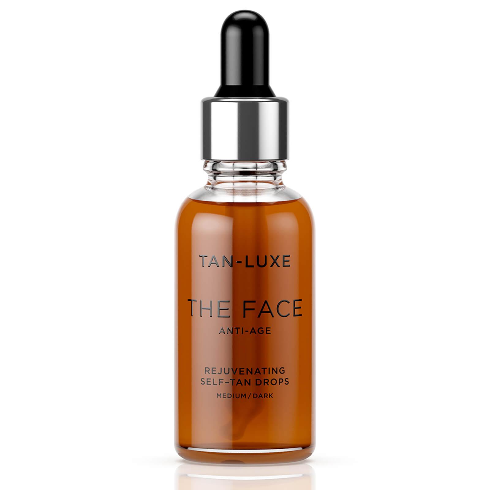 Купить Tan-Luxe The Face Anti-Age Rejuvenating Self-Tan Drops 30ml - Medium/Dark