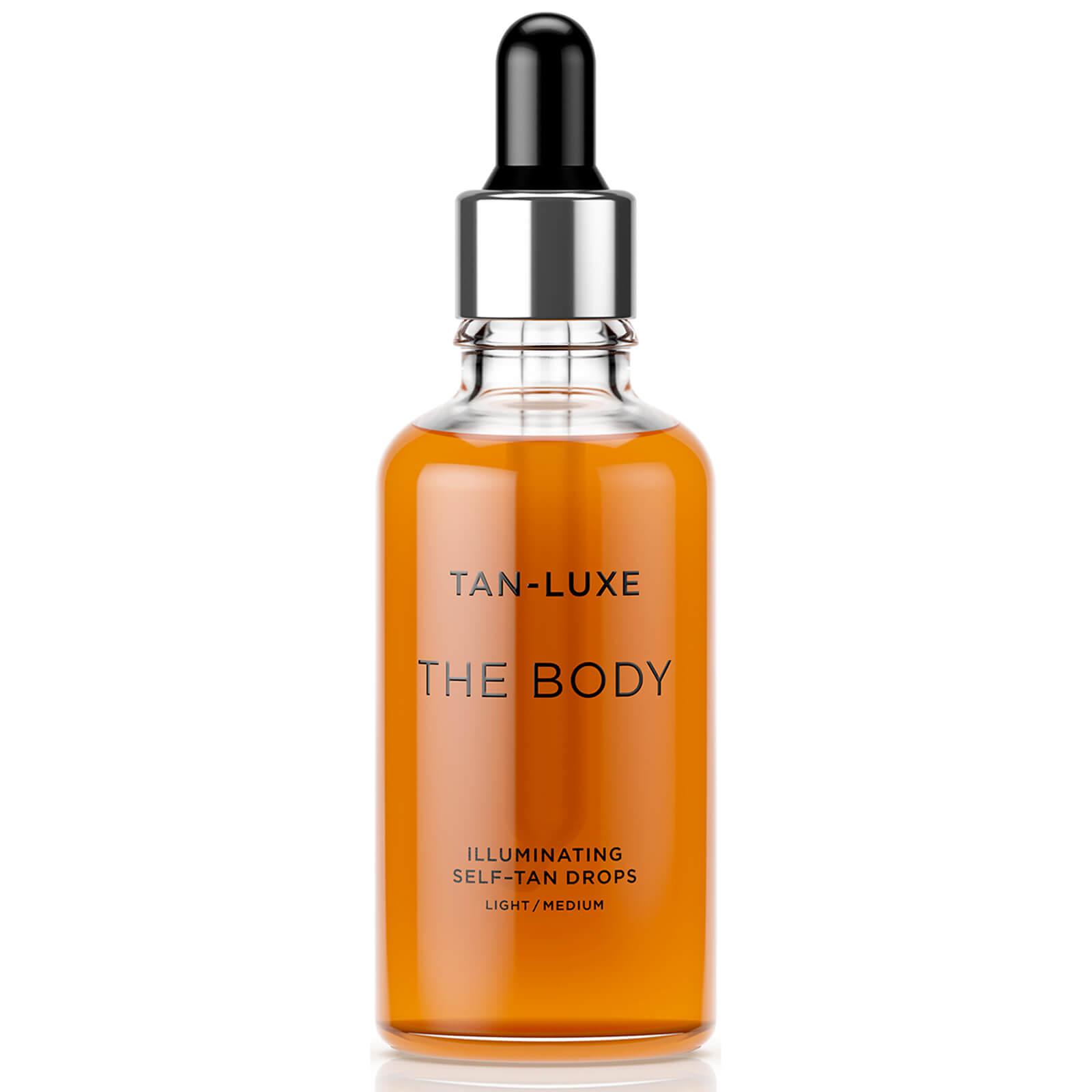 Tan-Luxe The Body Illuminating Self-Tan Drops 50ml - Light/Medium  - Купить