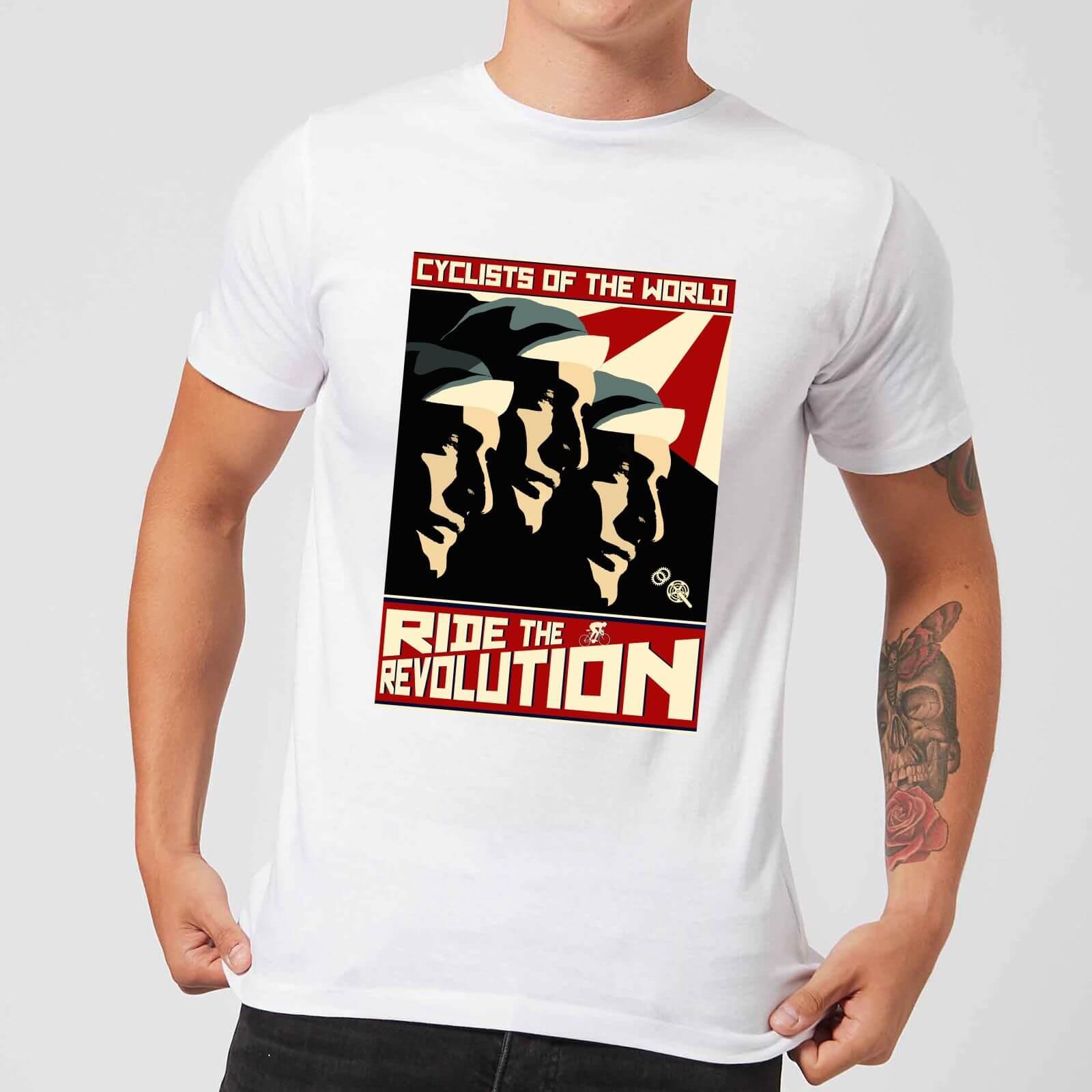 Mark Fairhurst Revolution Men's T-Shirt - White - XXL - Weiß