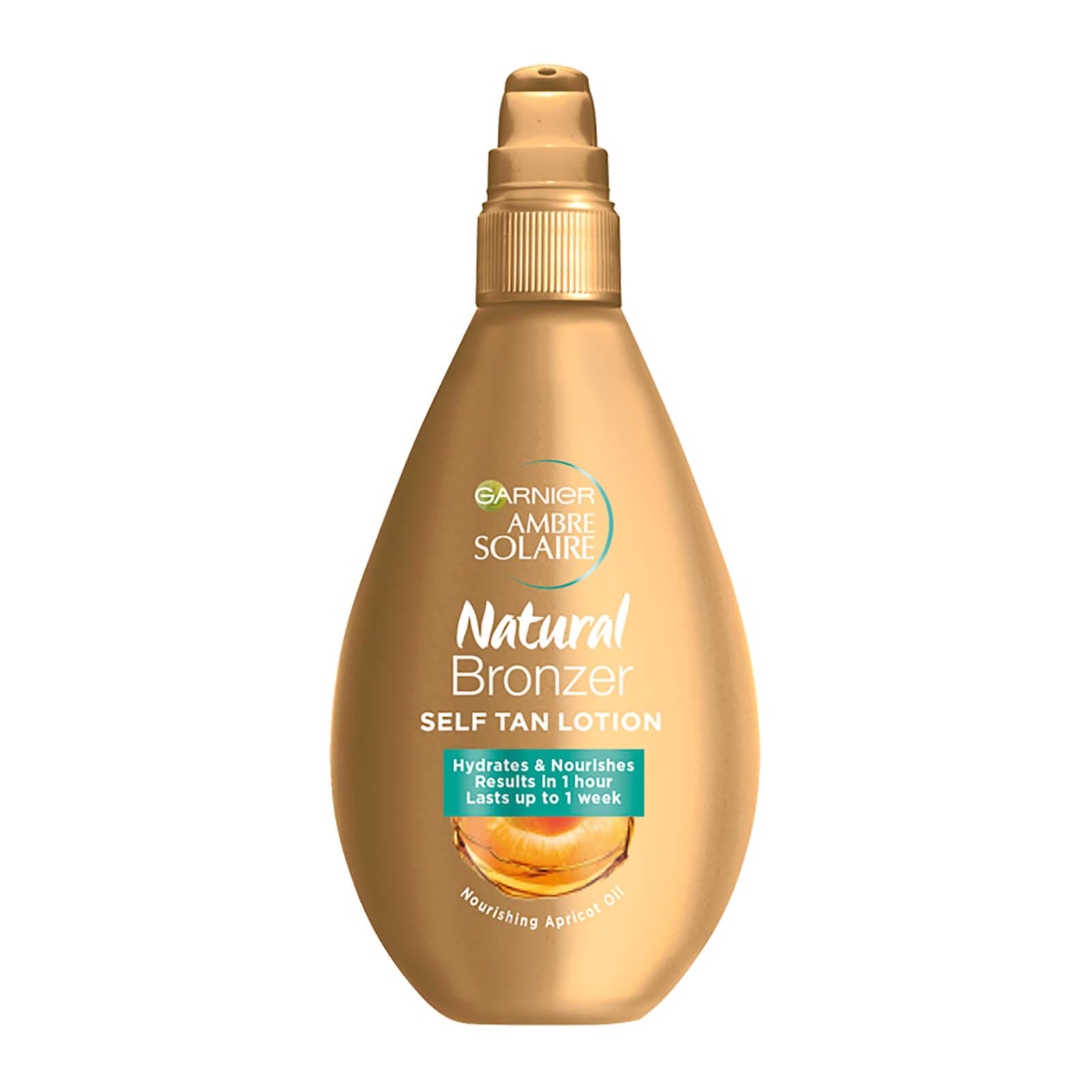 ambre solaire natural bronzer self tan lotion 150ml