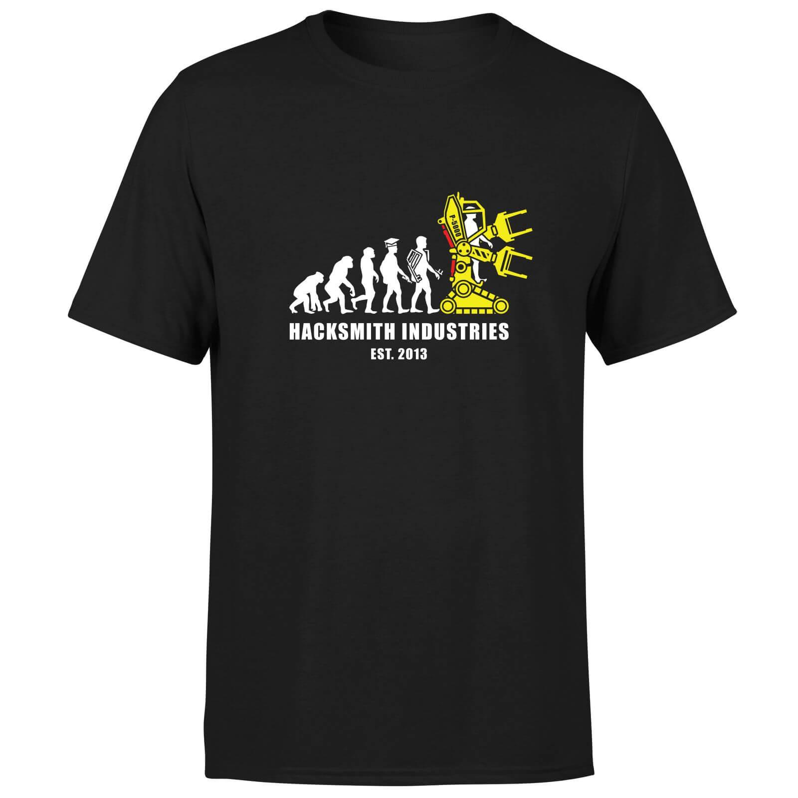 Hacksmith Industries EST. 2013 T-Shirt - Black - L - Black