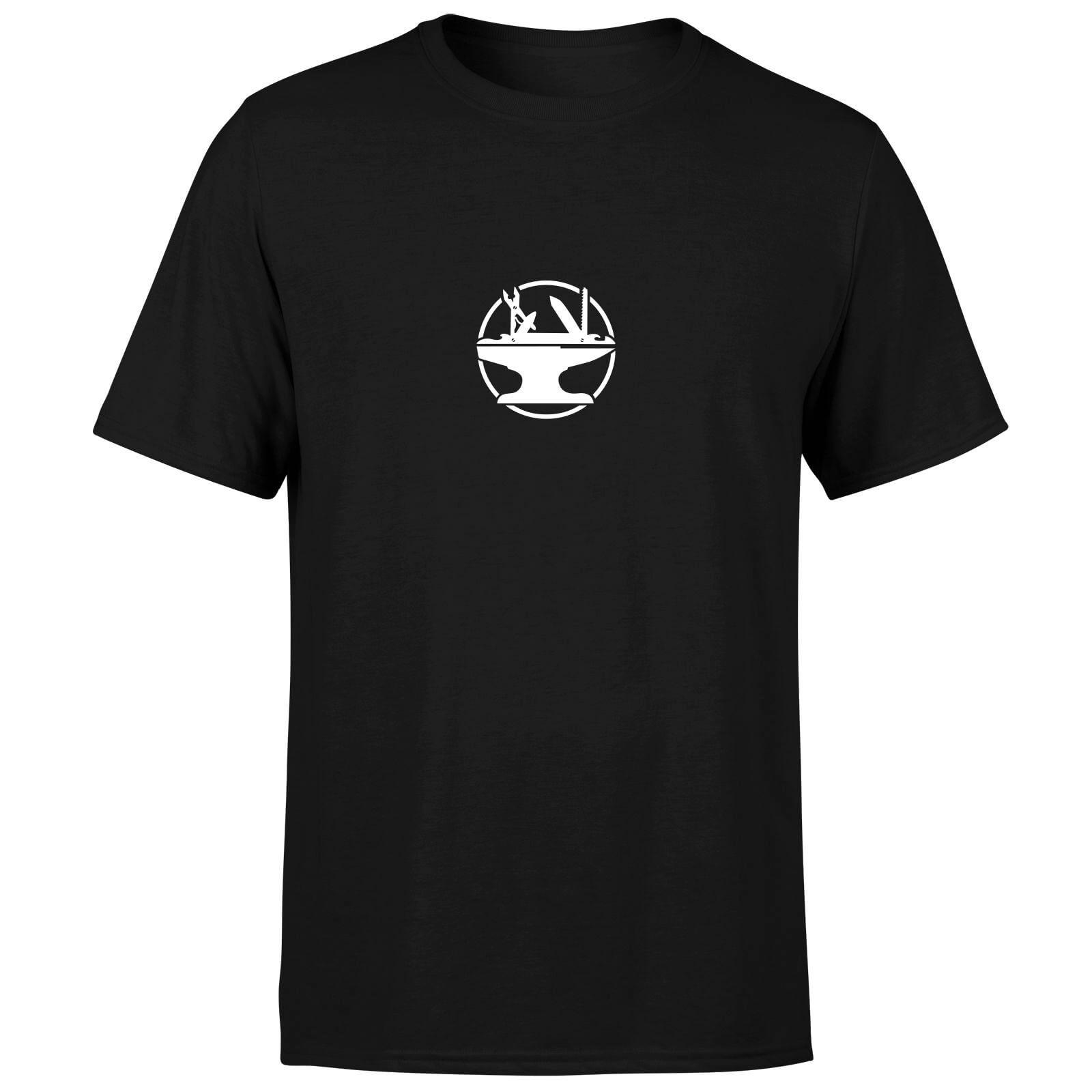 Hacksmith Logo T-Shirt - Black - XS - Black