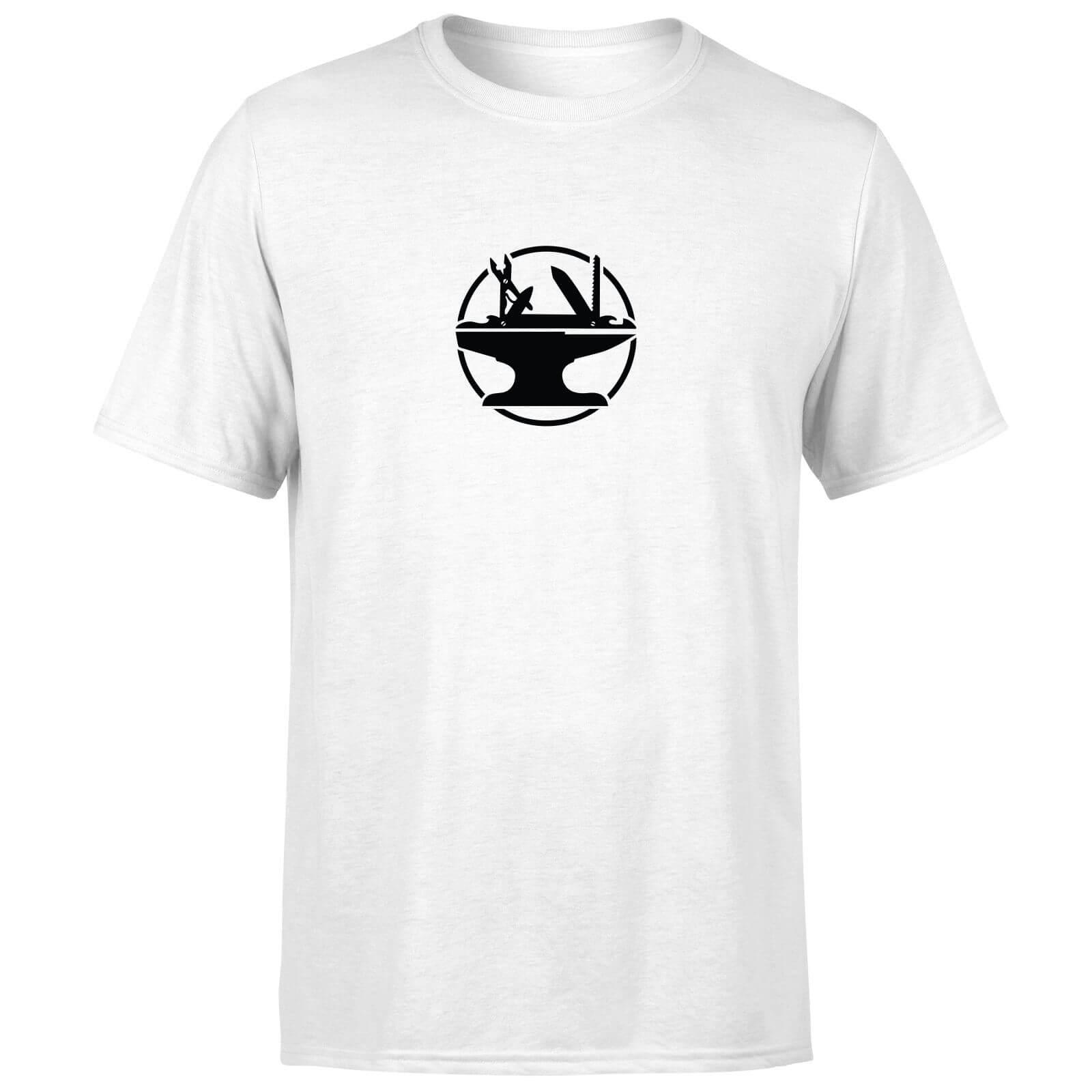 Hacksmith Logo T-Shirt - White - 5XL - White