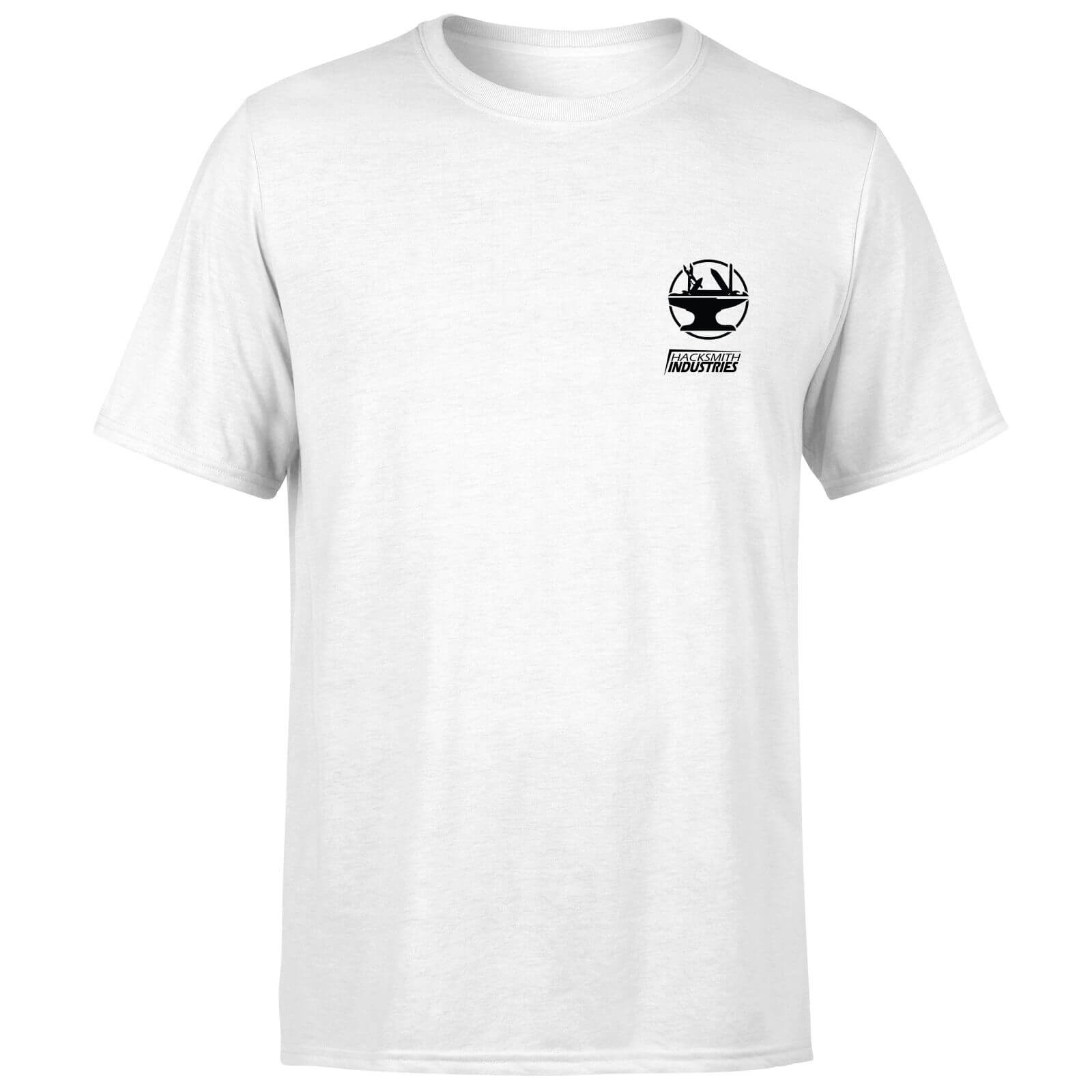 Hacksmith Industries Anvil Logo T-Shirt - White - 5XL - White