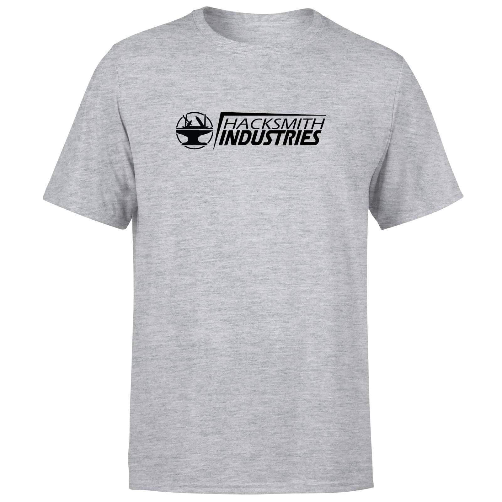 Hacksmith Industries Title T-Shirt - Grey - XS - Grey