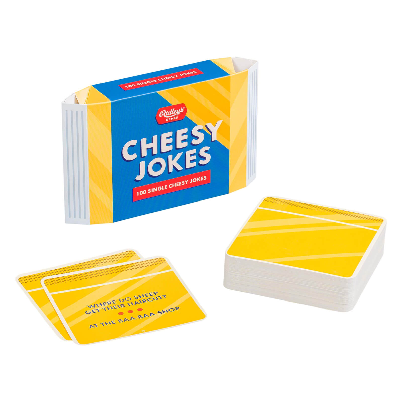 Image of Ridley's Games 100 Single Cheesy Jokes
