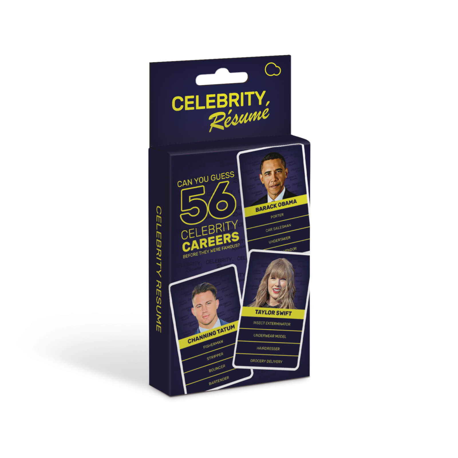 Image of Celebrity Resume Card Game