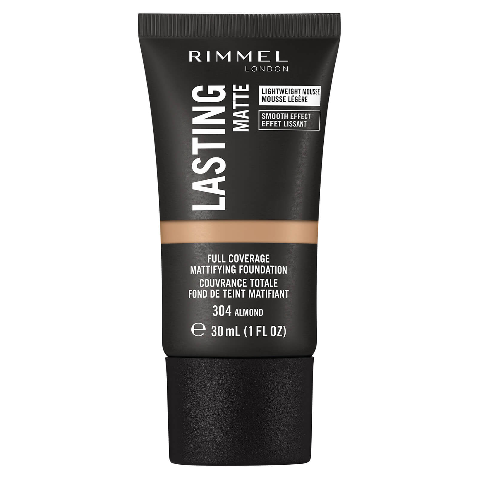 Купить Rimmel London Lasting Matte Foundation 30ml (Various Shades) - 304 Almond