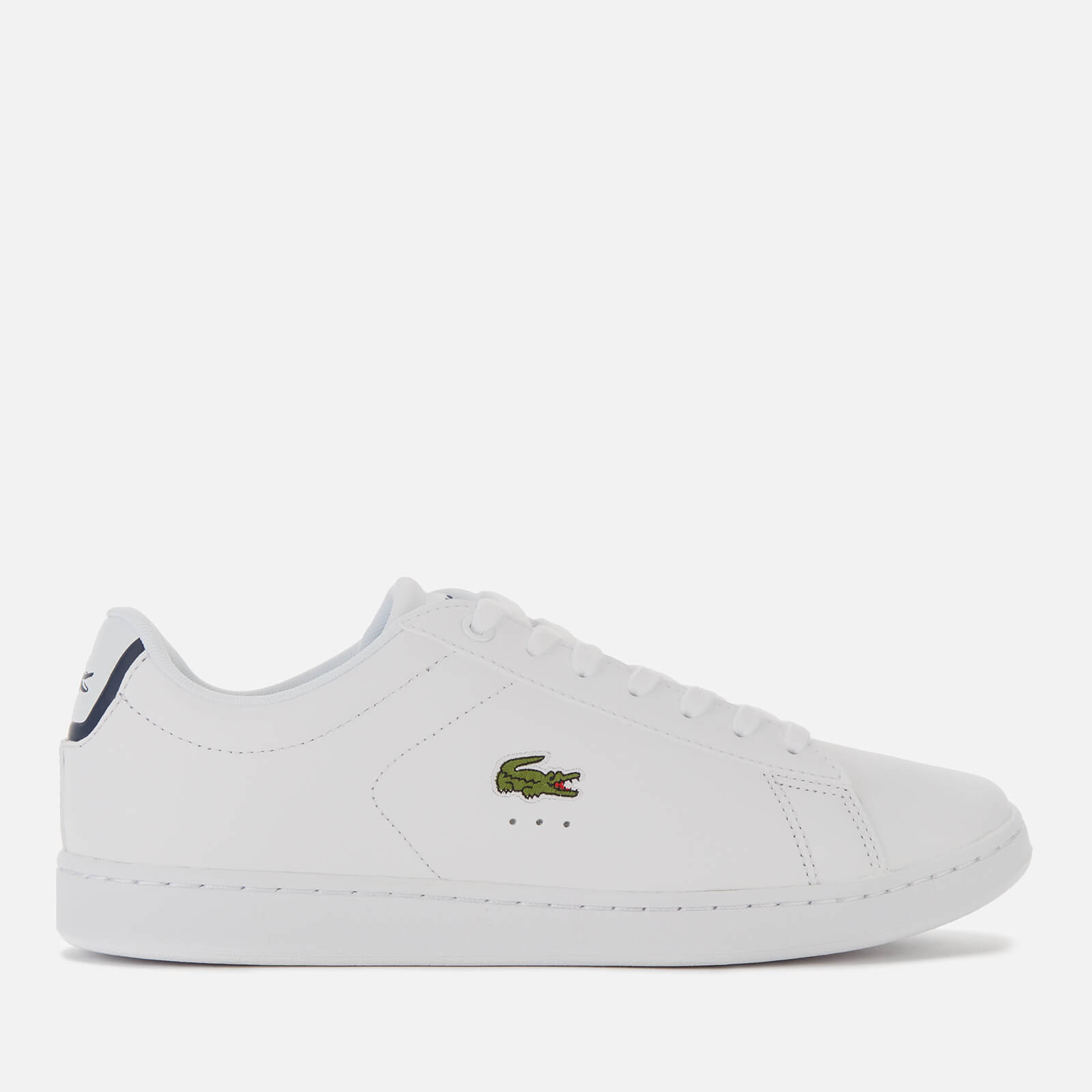Lacoste Men's Carnaby Evo Leather Trainers - White - UK 7