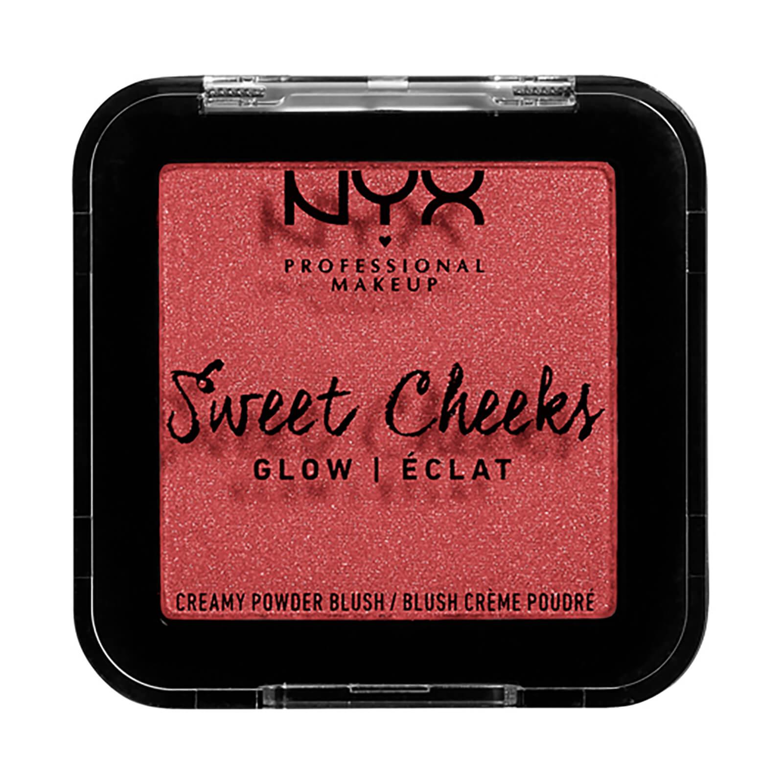 NYX Professional Makeup Powder Blusher Blush Glow 5ml (Various Shades) - Citrine Rose