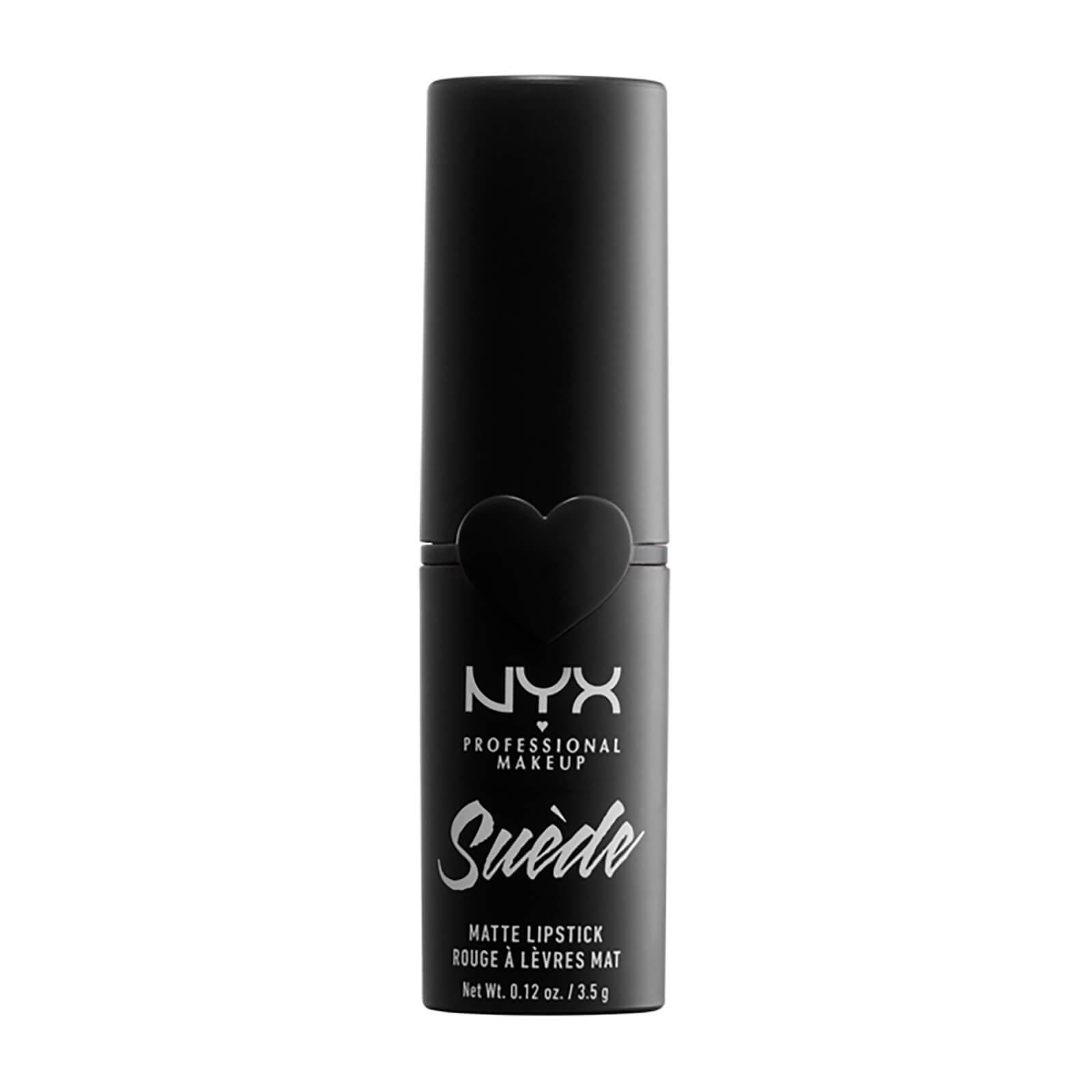 nyx professional makeup suede matte lipstick (various shades) - alien