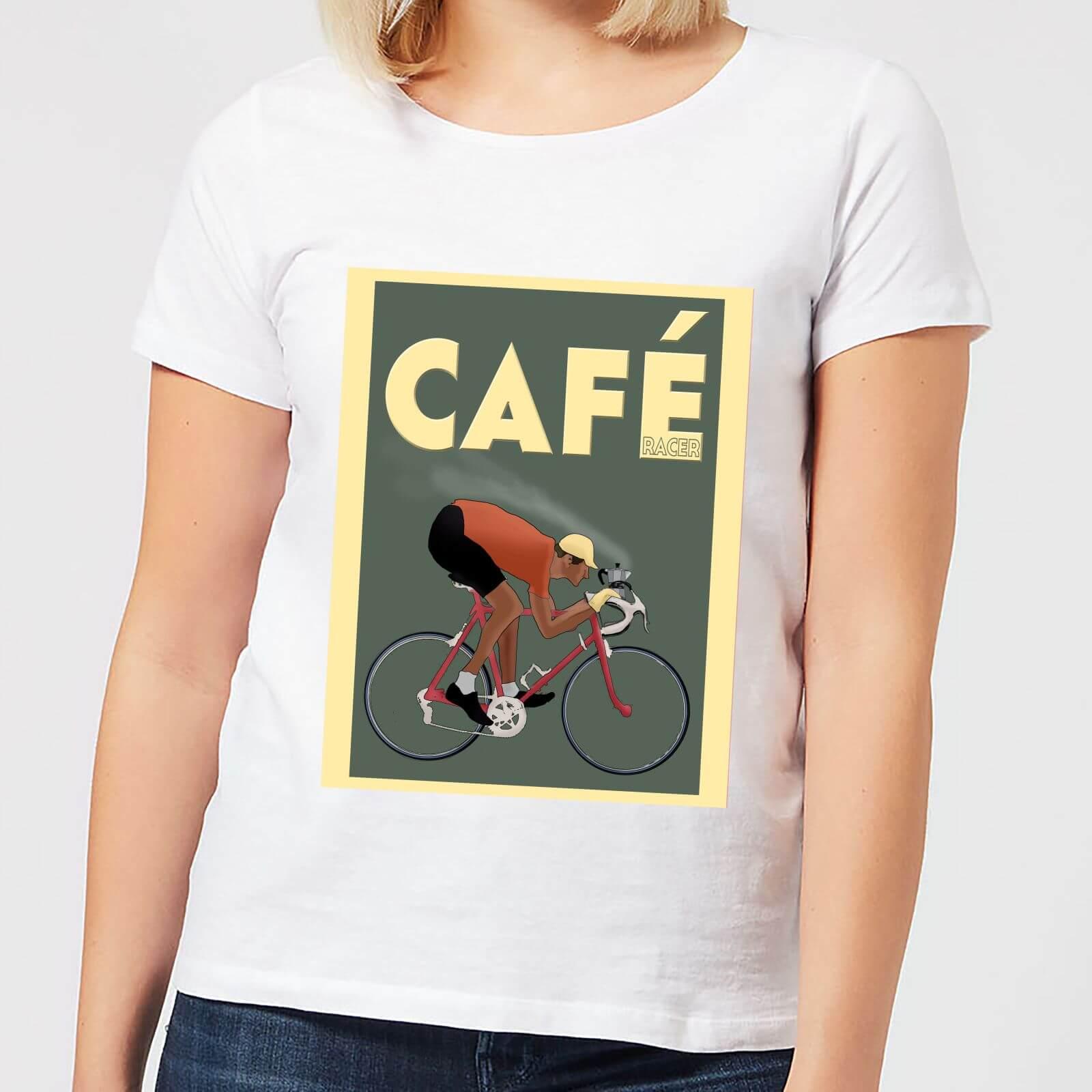 Mark Fairhurst Cafe Racer Women's T-Shirt - White - XL - White