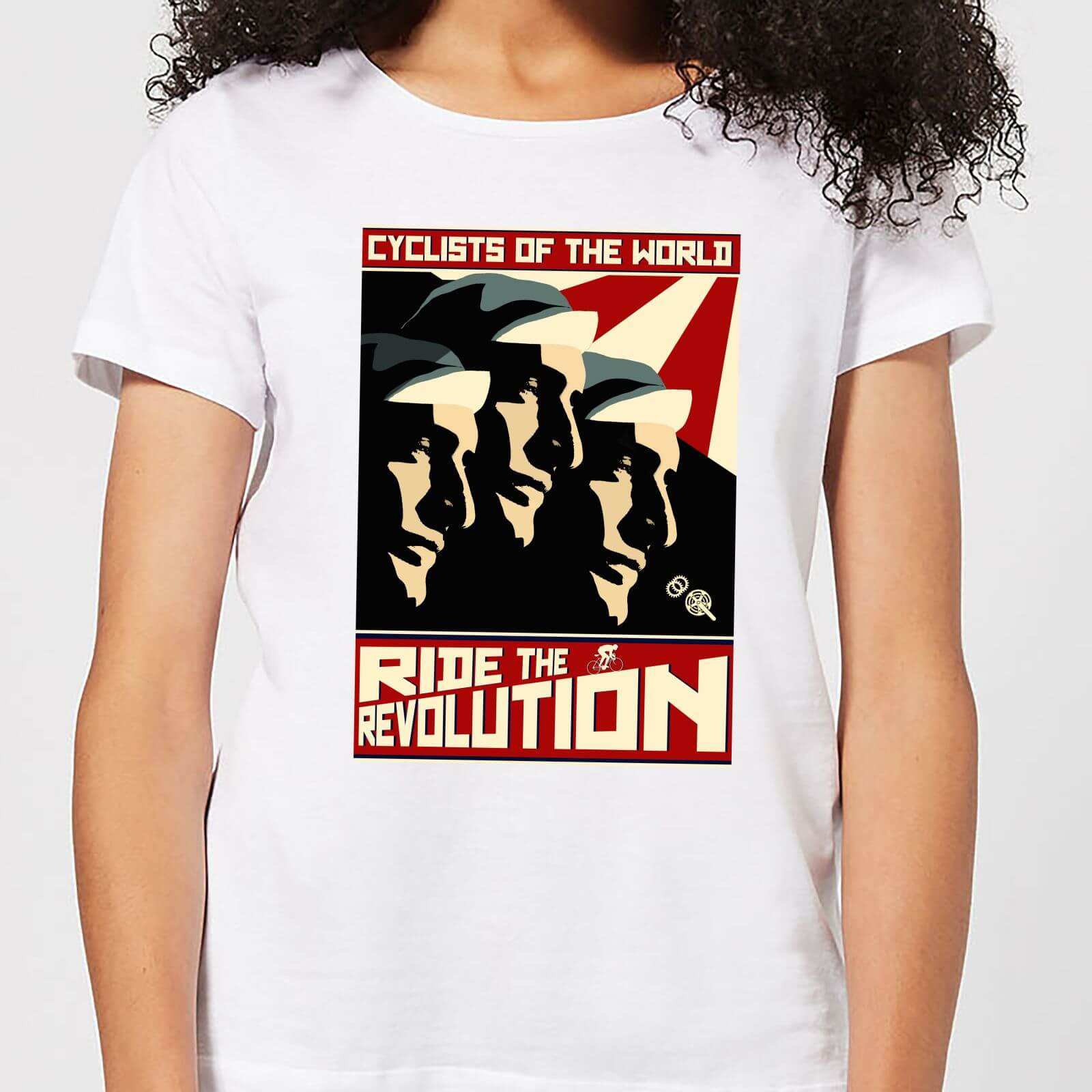 Mark Fairhurst Revolution Women's T-Shirt - White - XXL - White