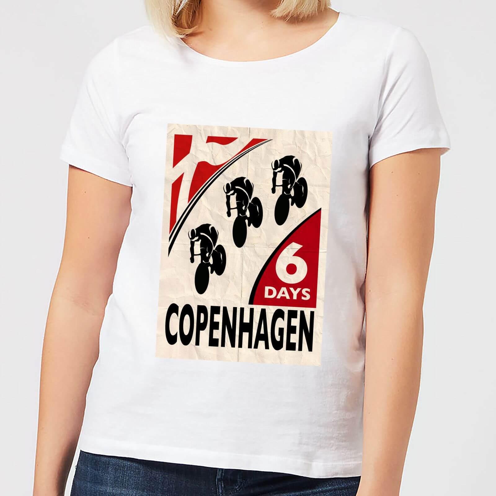 Mark Fairhurst Six Days Copenhagen Women's T-Shirt - White - S - White
