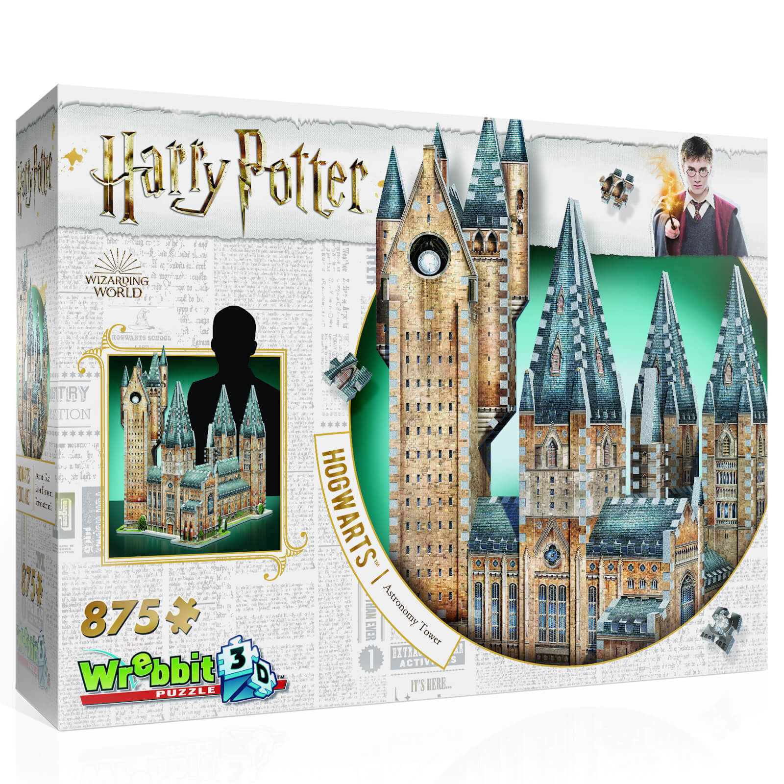 Image of Harry Potter Hogwarts Astronomy Tower 3D Puzzle (875 Pieces)