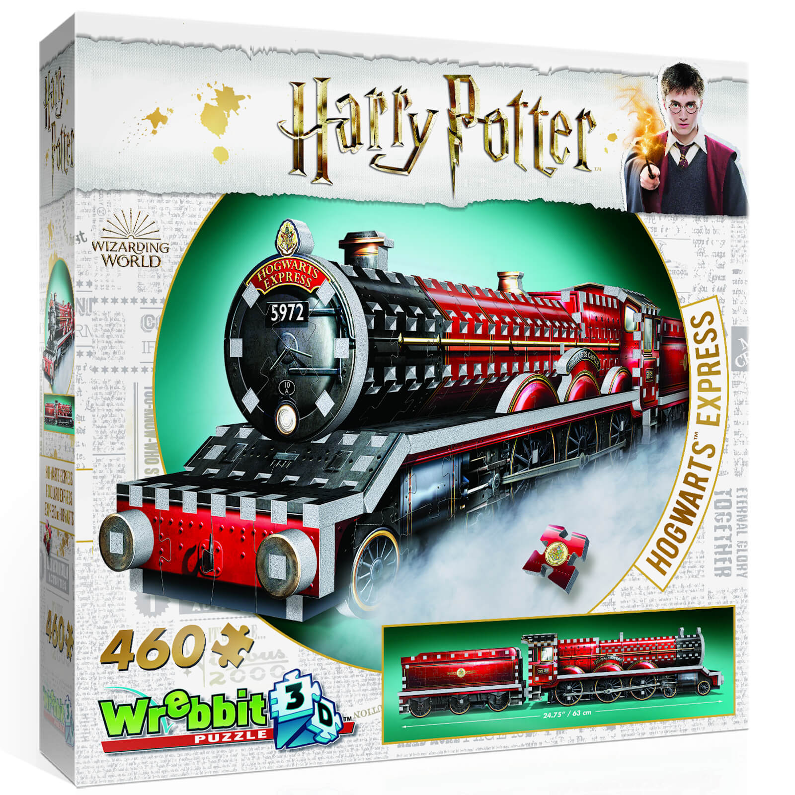 Image of Harry Potter Hogwarts Express 3D Puzzle (460 Pieces)