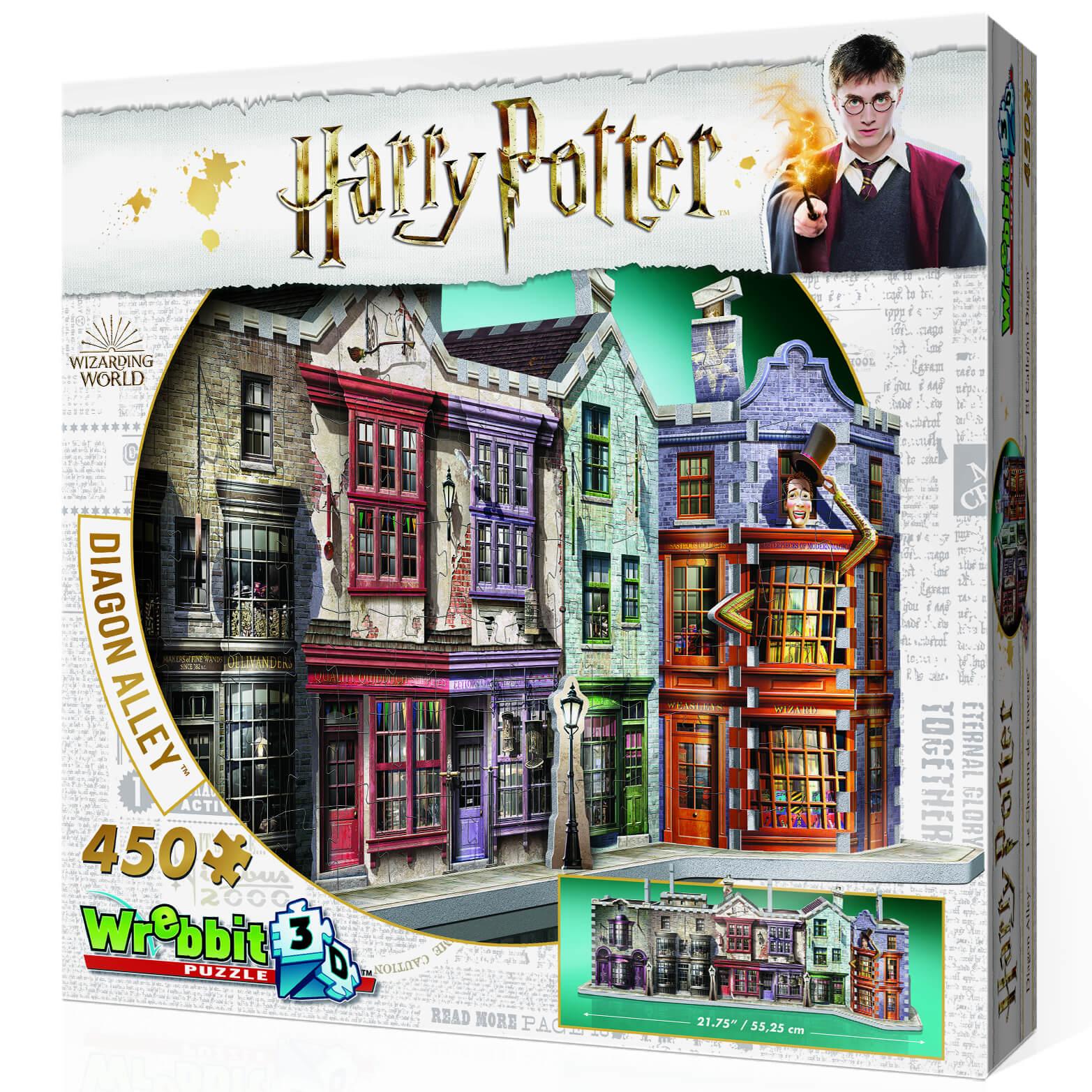 Harry Potter Diagon Alley 3D Puzzle (450 Pieces)