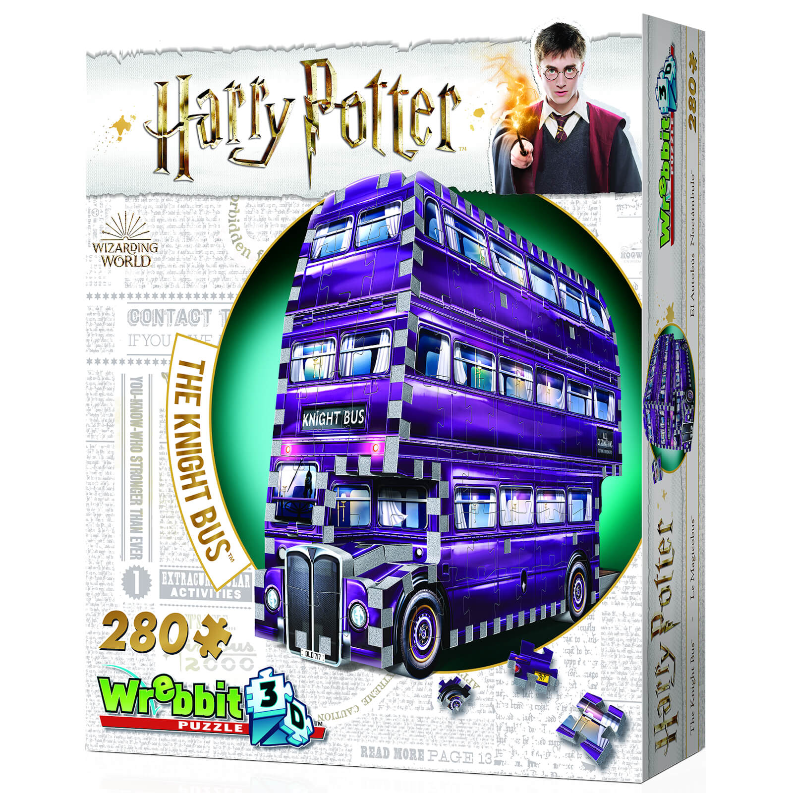 Image of Harry Potter Knight Bus 3D Puzzle (280 Pieces)