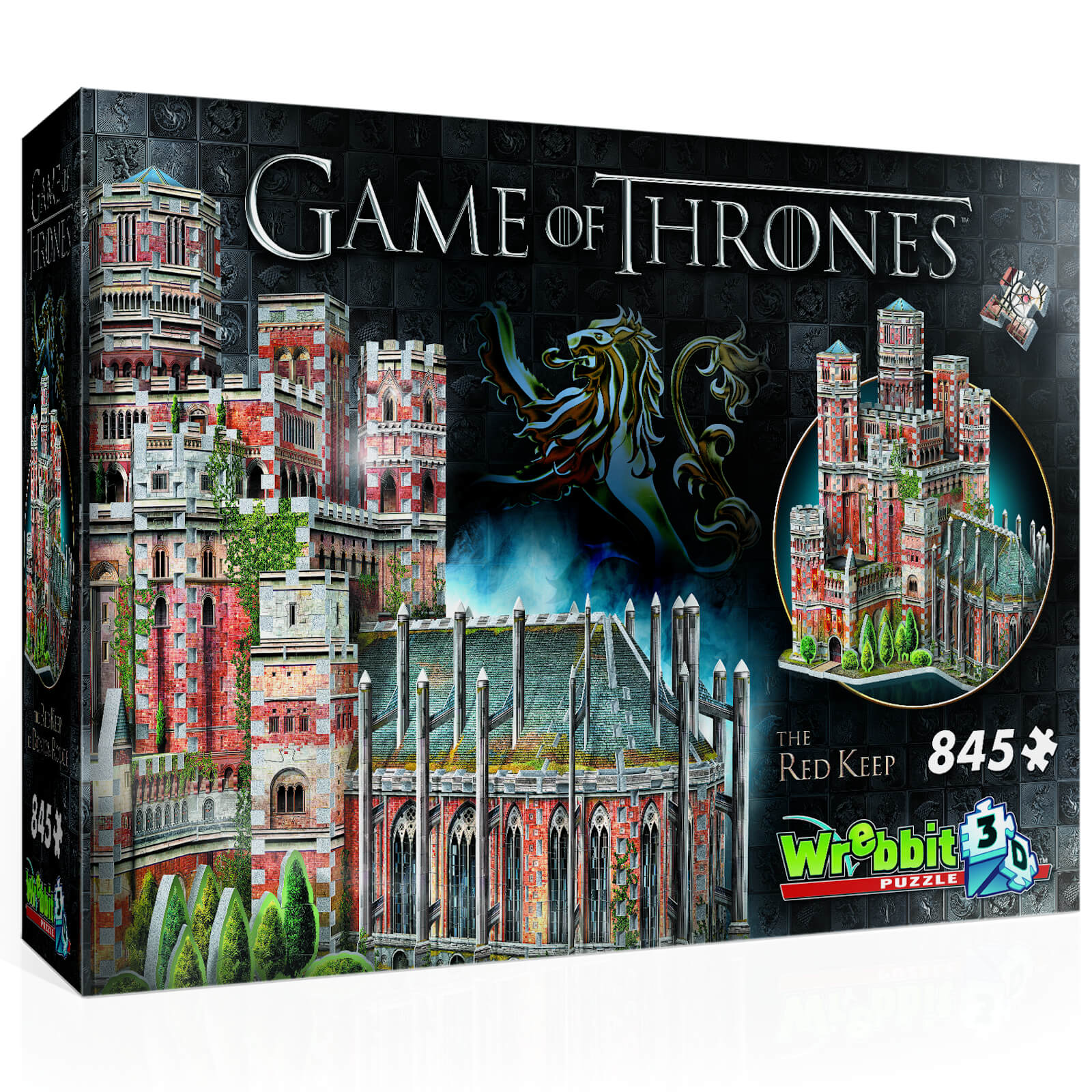 Image of Game of Thrones: Red Keep 3D Puzzle (845 Pieces)
