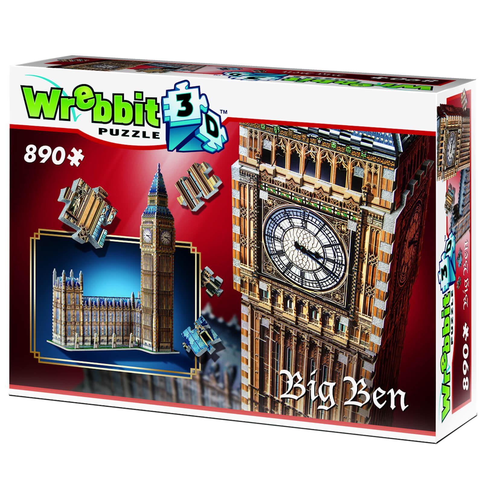 Image of Wrebbit 3D Big Ben Jigsaw Puzzle - 890 Pieces