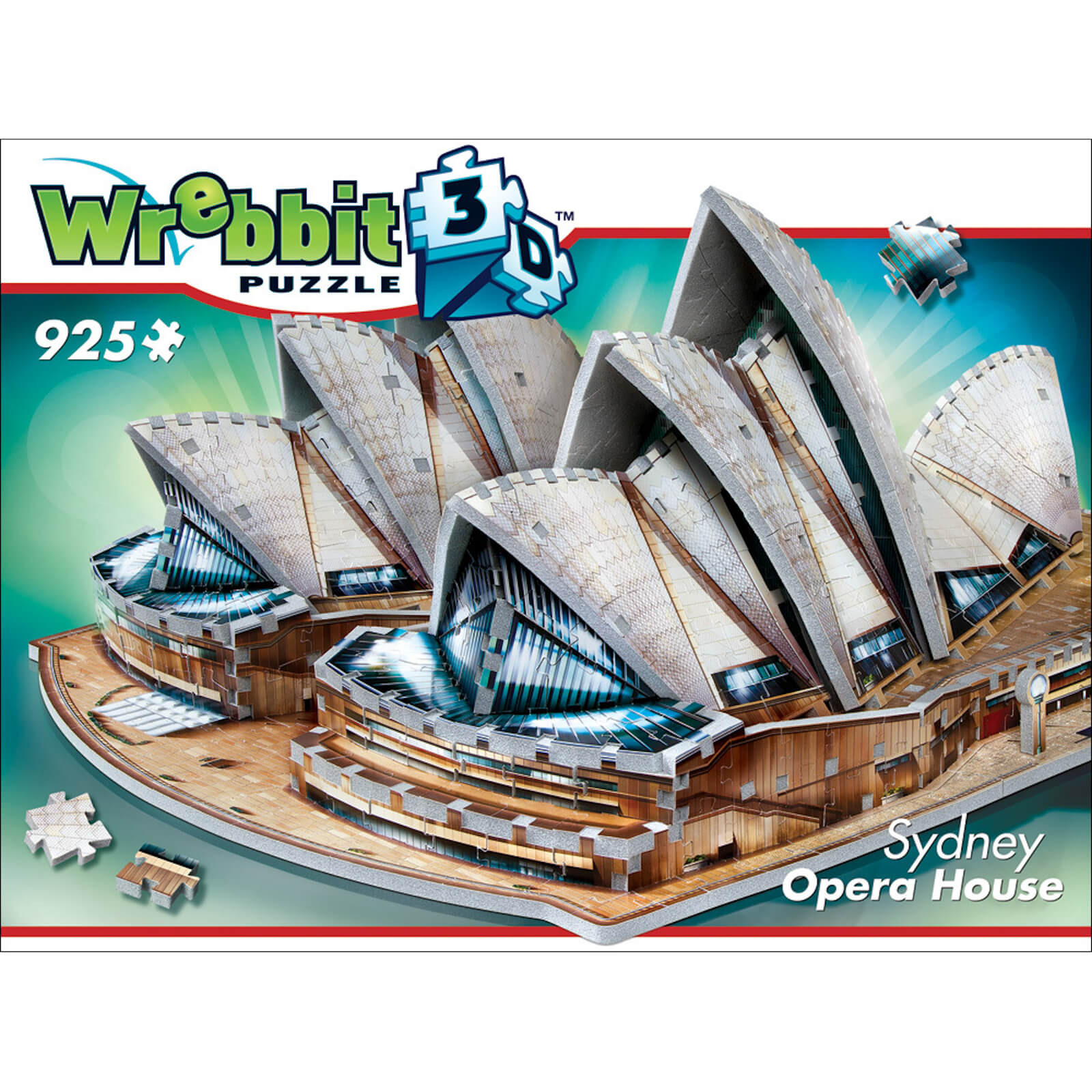 Image of Wrebbit 3D Sydney Opera House Jigsaw Puzzle - 925 Pieces