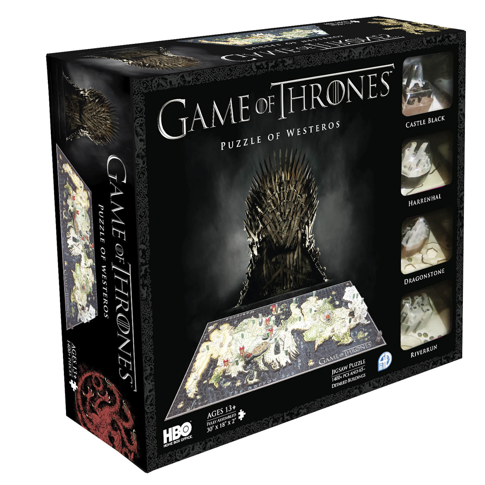 Image of Game of Thrones Westeros 3D Puzzle (1400+ Pieces)
