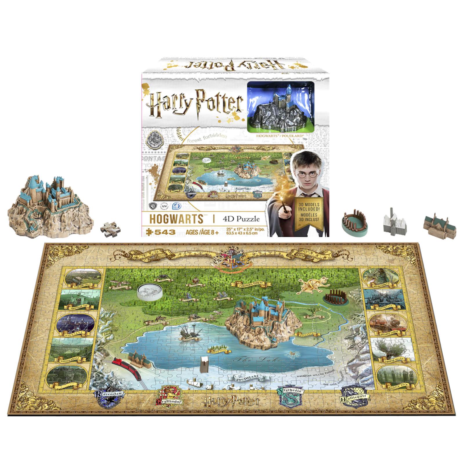 Image of Harry Potter Mini Hogwarts Puzzle (543 Pieces)