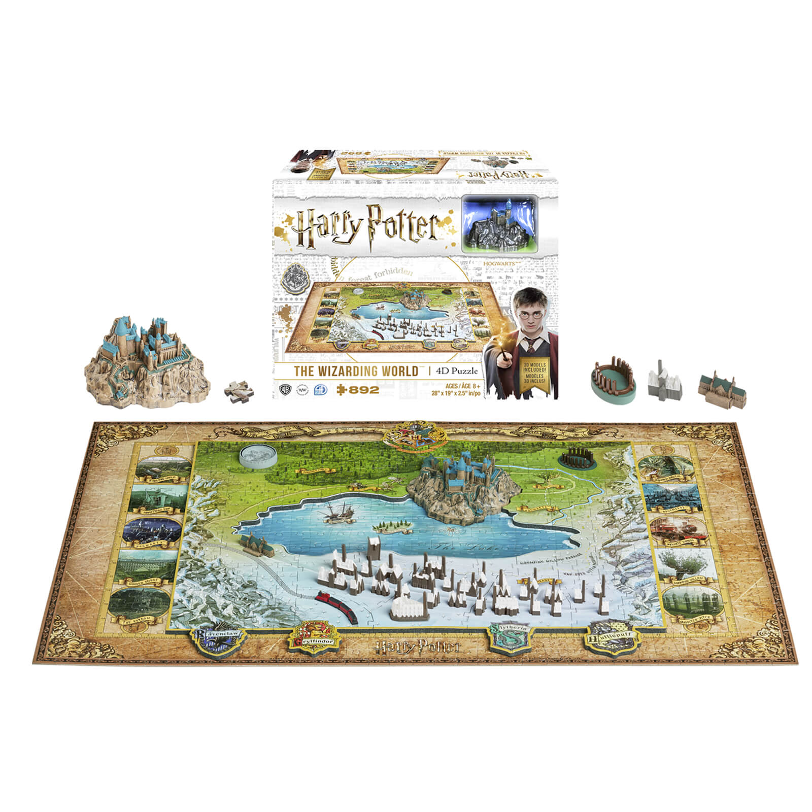 Image of Harry Potter The Wizarding World Puzzle (892 Pieces)