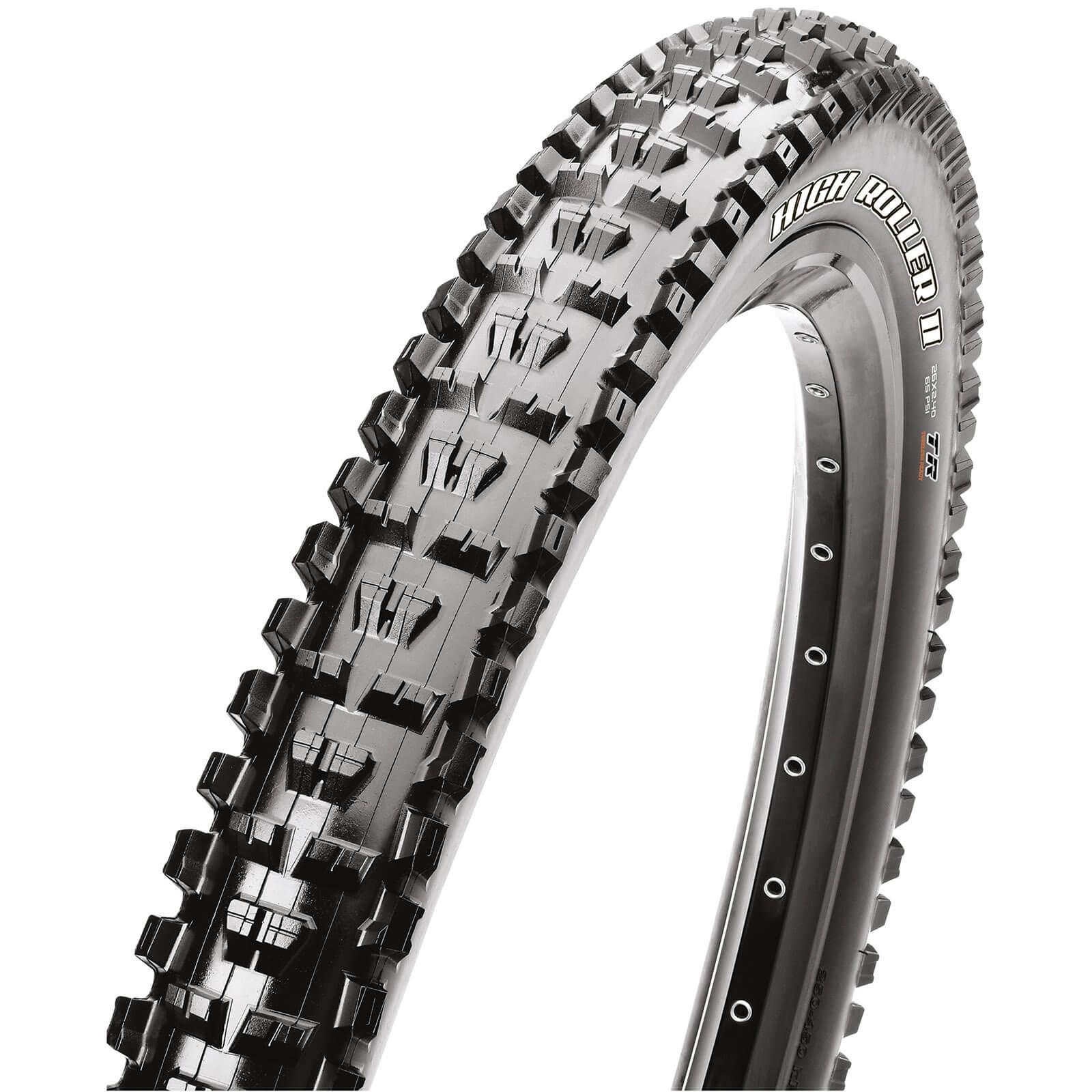 Maxxis High Roller II+ Folding TR EXO Tyre - 27.5in x 3.00in