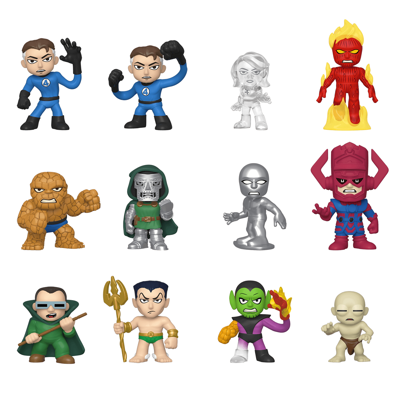 Image of Marvel Fantastic Four Mystery Minis