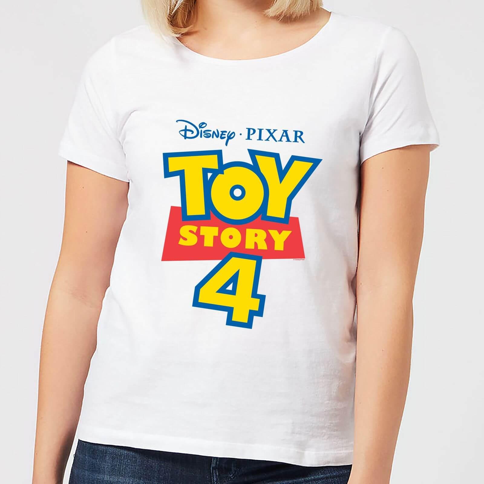 Toy Story 4 Logo Women's T-Shirt - White - 3XL - White