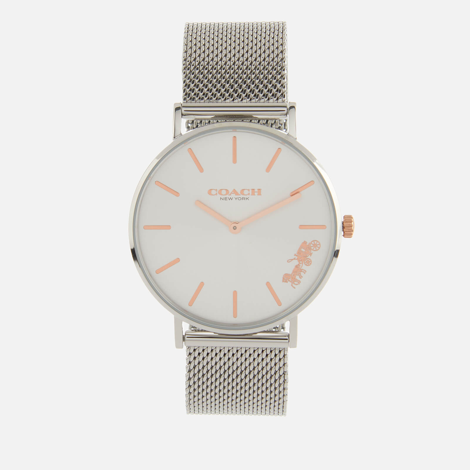 Coach Women's Perry Mesh Strap Watch - Rou SWH