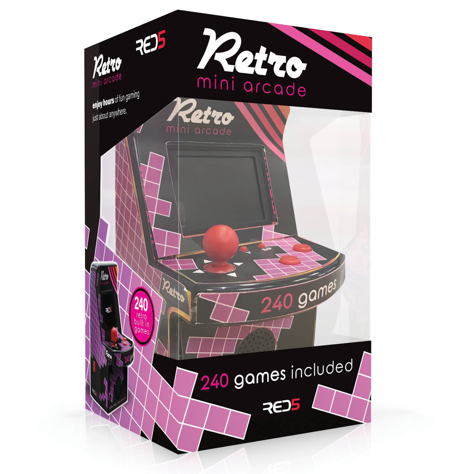 Image of Retro Mini Arcade Machine