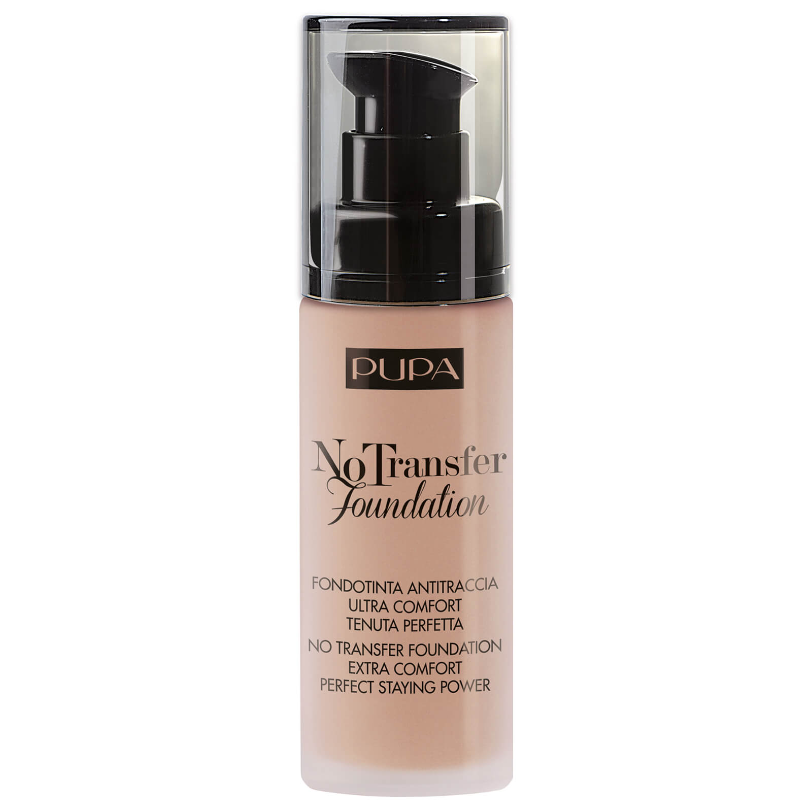 PUPA No Transfer Foundation 30ml (Various Shades) - Medium Beige