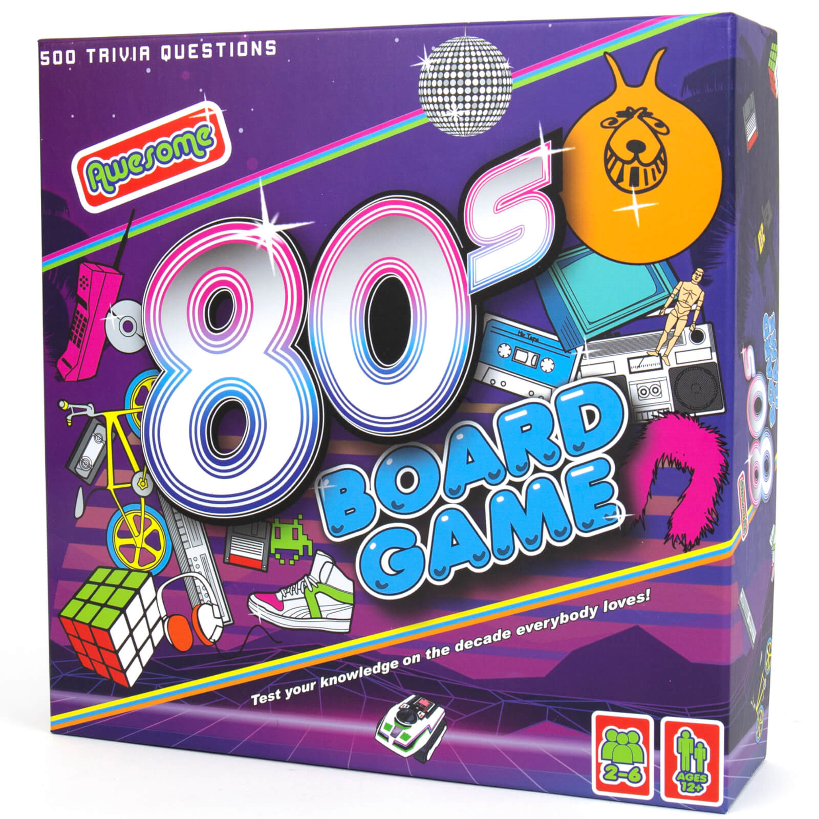 Image of Awesome 80s Board Game