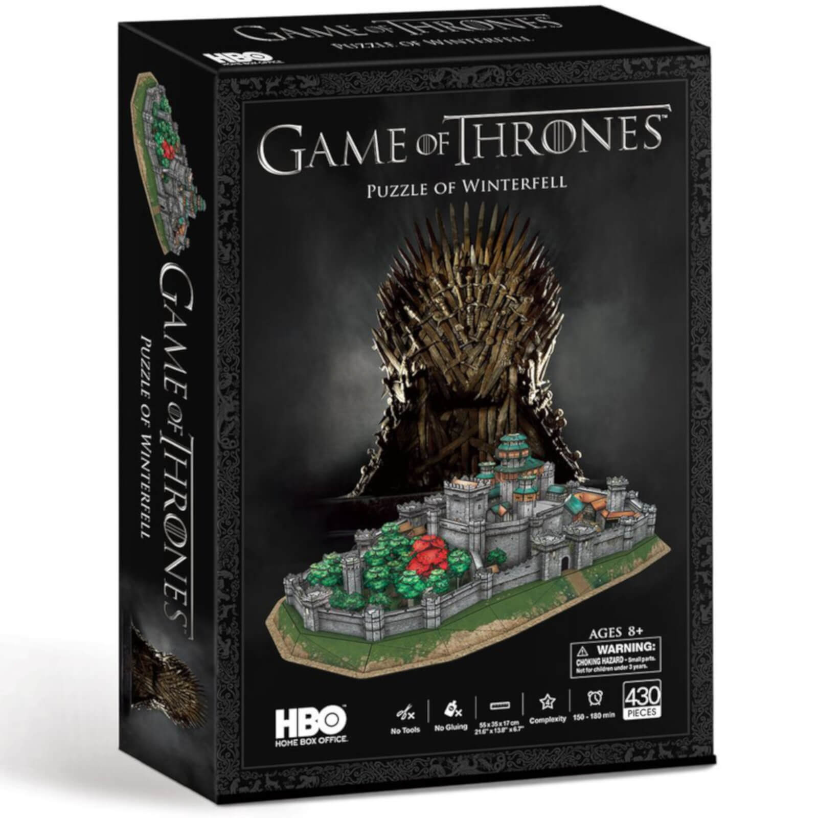Image of Game of Thrones Winterfell 3D Puzzle