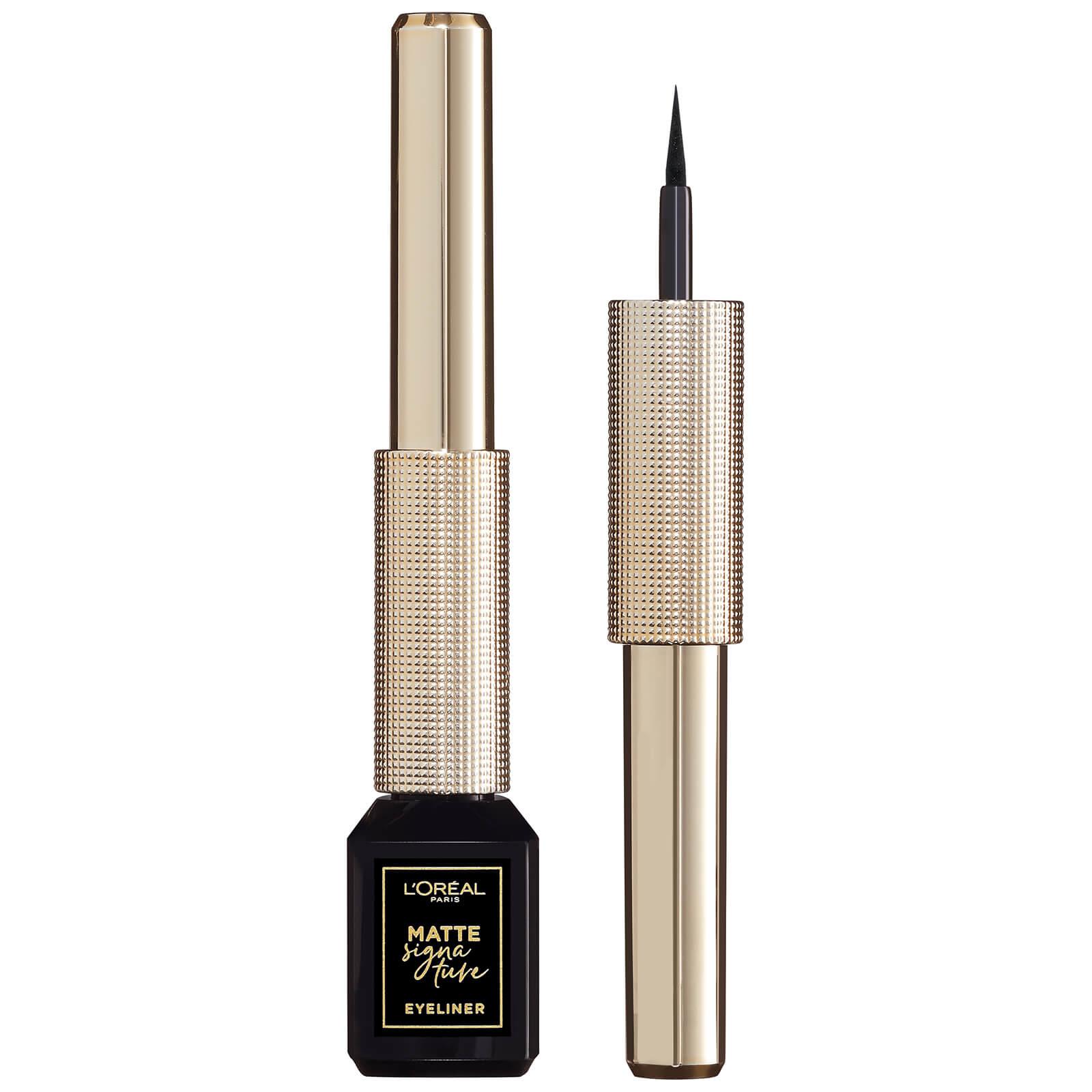 L'Oréal Paris Matte Signature Liquid Eyeliner 3ml (Various Shades) - 01 Black
