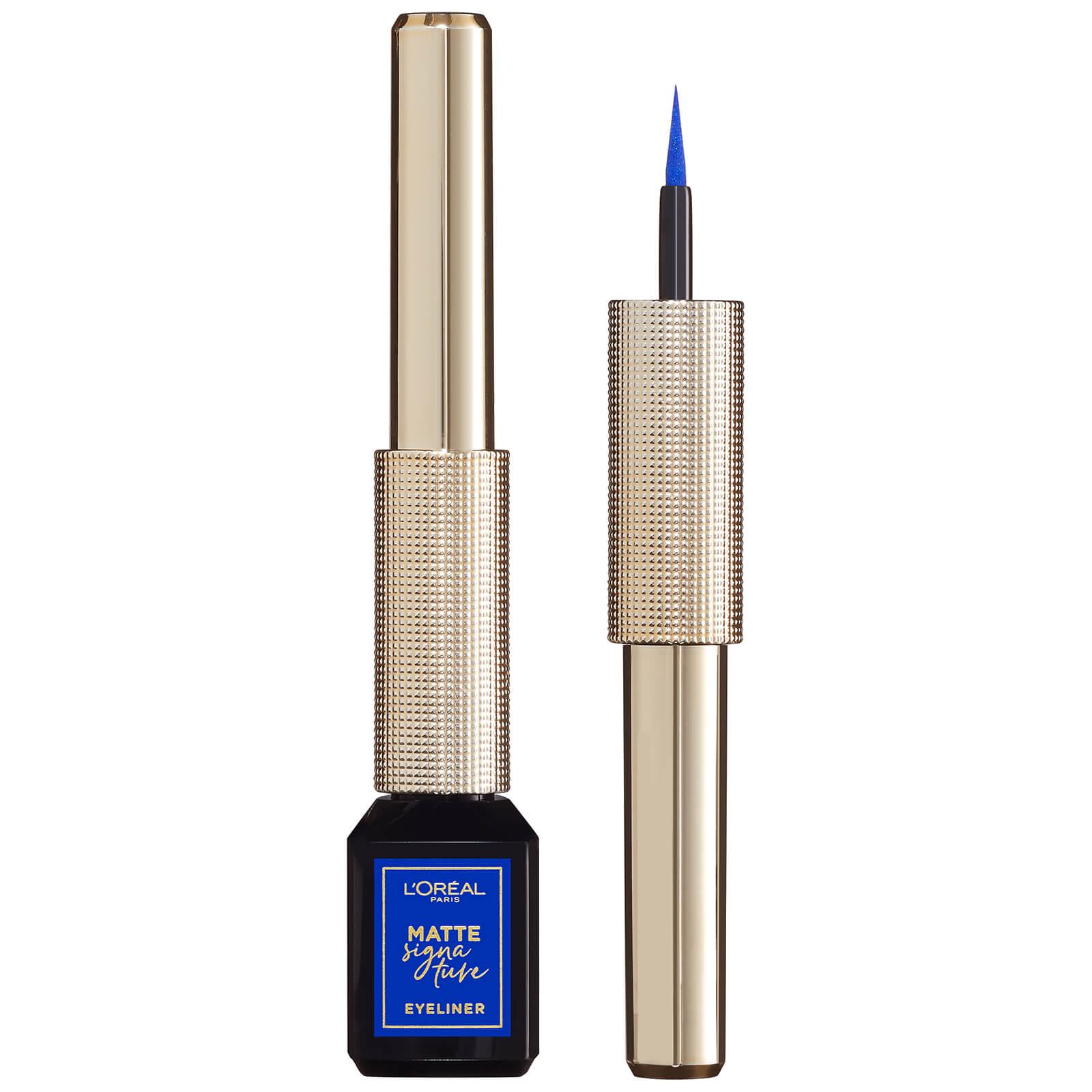 L'Oréal Paris Matte Signature Liquid Eyeliner 3ml (Various Shades) - 02 Blue