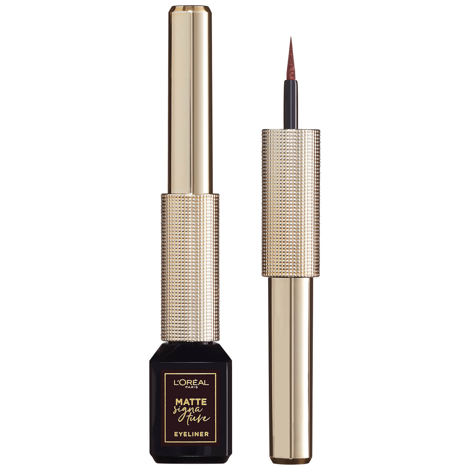 L'Oréal Paris Matte Signature Liquid Eyeliner 3ml (Various Shades) - 03 Brown