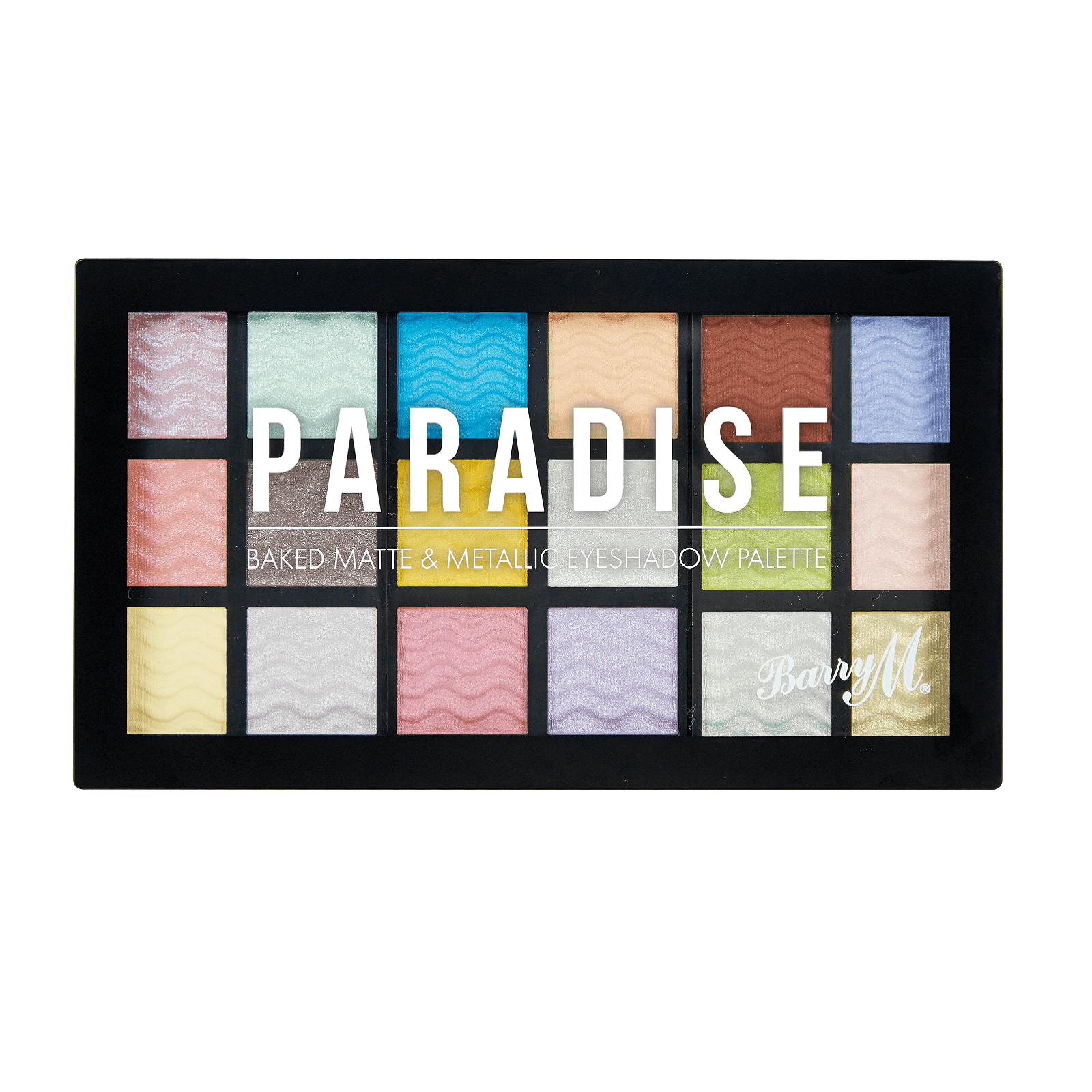 Barry M Cosmetics Baked Eyeshadow Palette Paradise