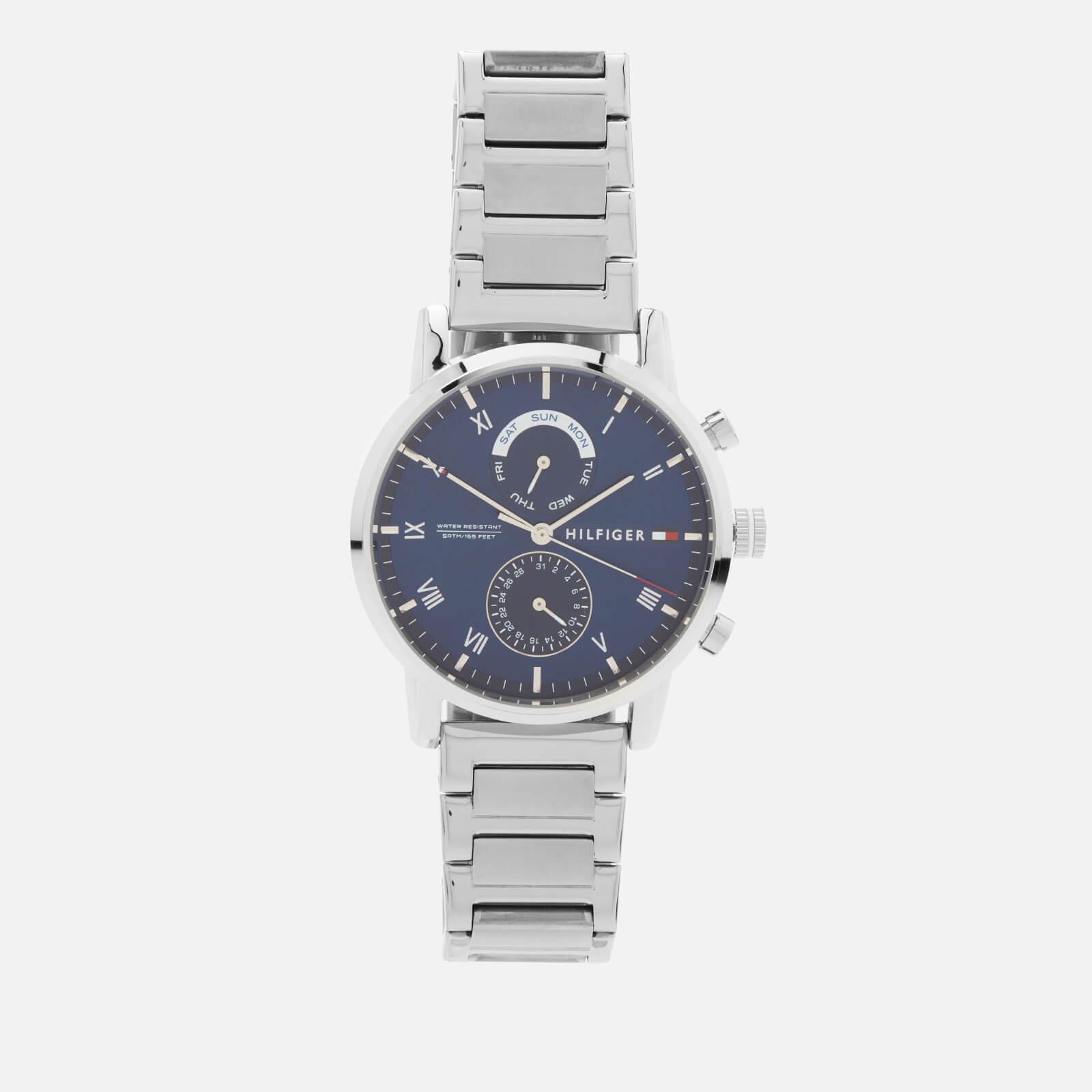 Tommy Hilfiger Men's Kane Metal Strap Watch - Silver