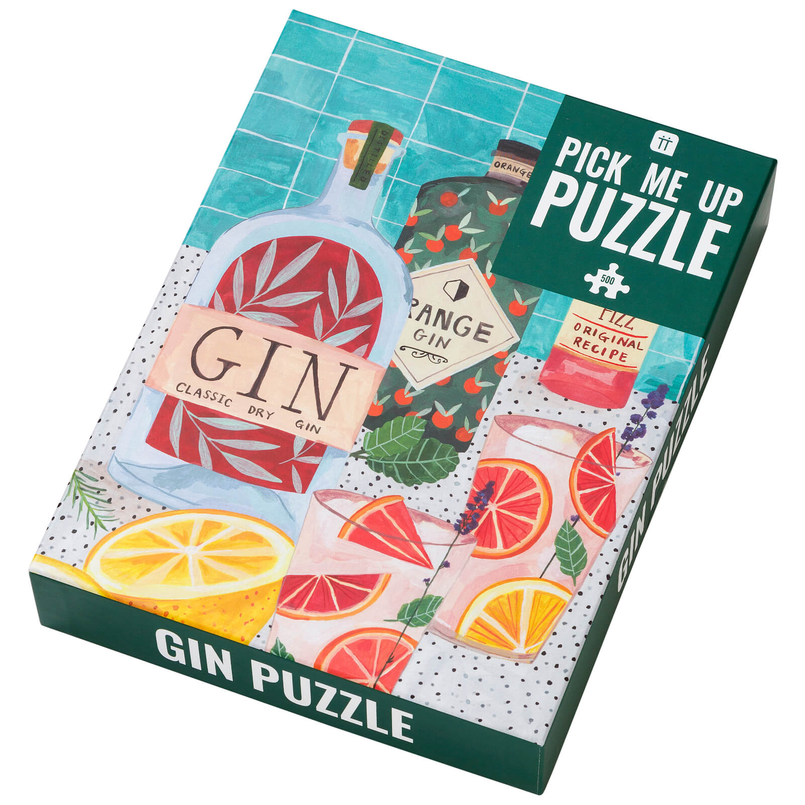 Image of Pick Me Up Gin Puzzle - 500 Piece