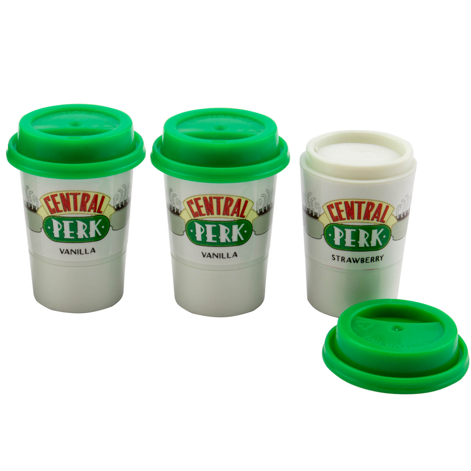 Image of Friends Central Perk Lip Balm Set of 3