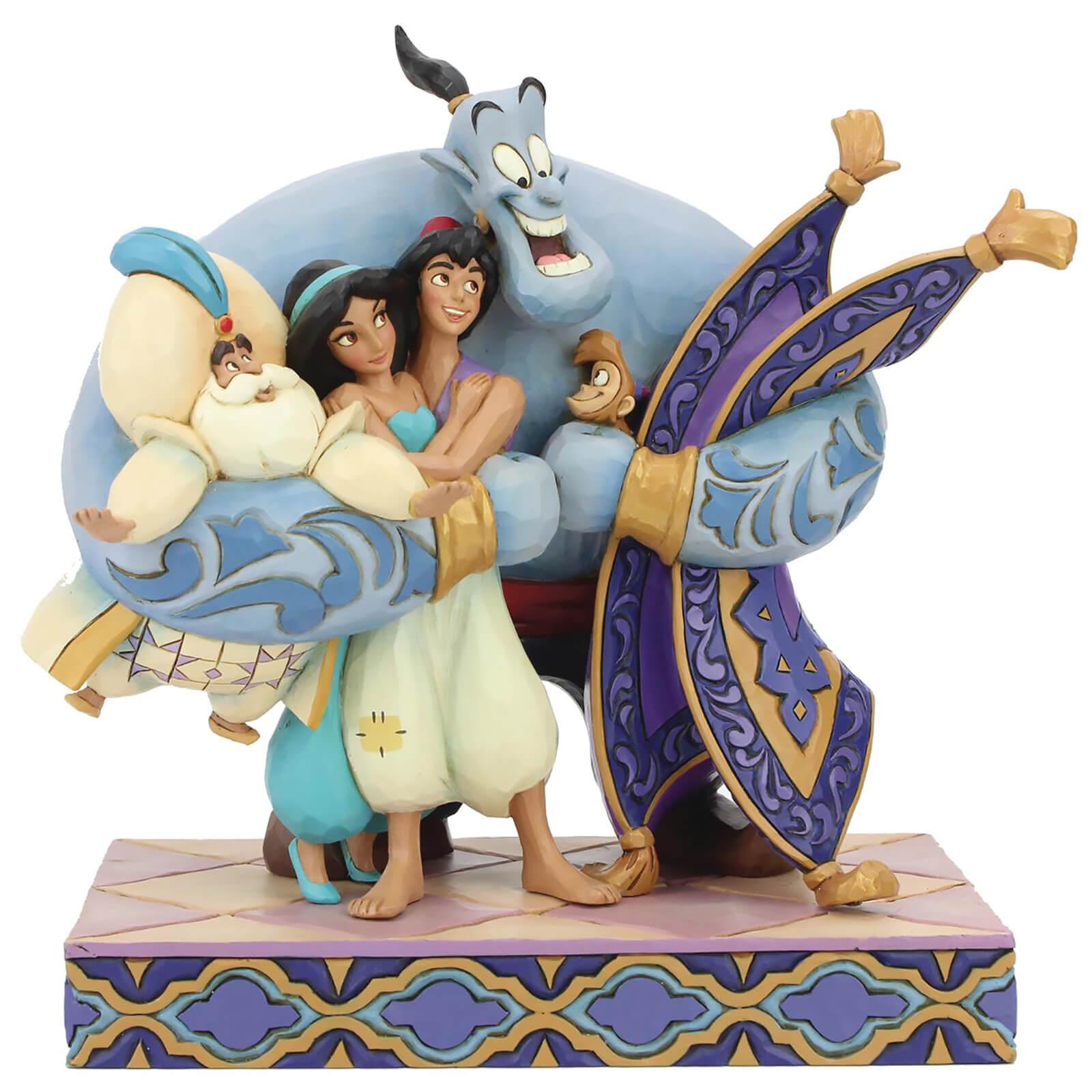 Image of Disney Traditions - Group Hug! (Aladdin Figurine)
